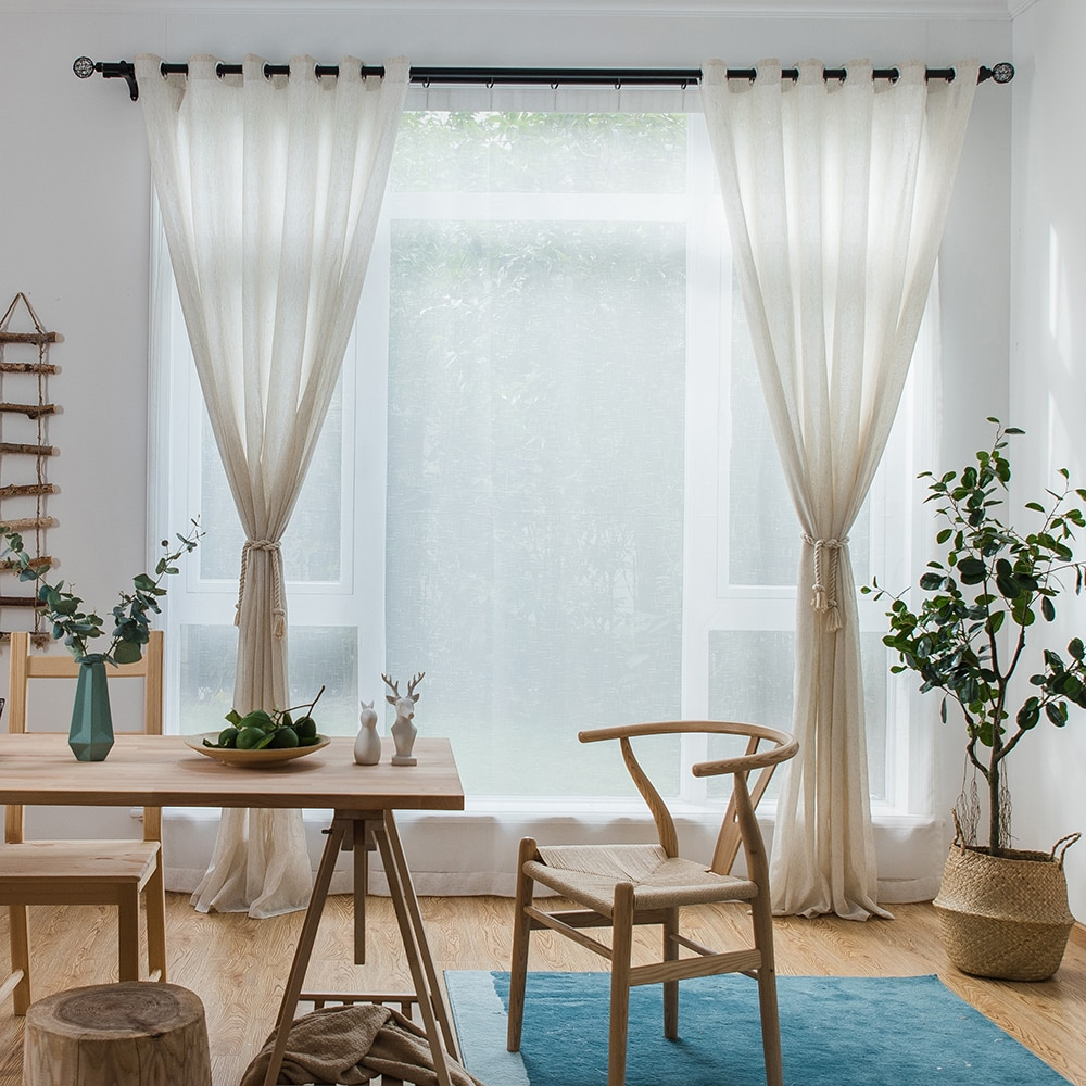 [%us $4.9 29% Off|single Panels Solid Linen Curtains Tulle Living Room Decoration American Style Rustic Kitchen Curtains Sheers In Curtains From Home & Within Famous Rustic Kitchen Curtains|rustic Kitchen Curtains In Current Us $4.9 29% Off|single Panels Solid Linen Curtains Tulle Living Room Decoration American Style Rustic Kitchen Curtains Sheers In Curtains From Home &|famous Rustic Kitchen Curtains Within Us $4.9 29% Off|single Panels Solid Linen Curtains Tulle Living Room Decoration American Style Rustic Kitchen Curtains Sheers In Curtains From Home &|fashionable Us $ (View 5 of 20)