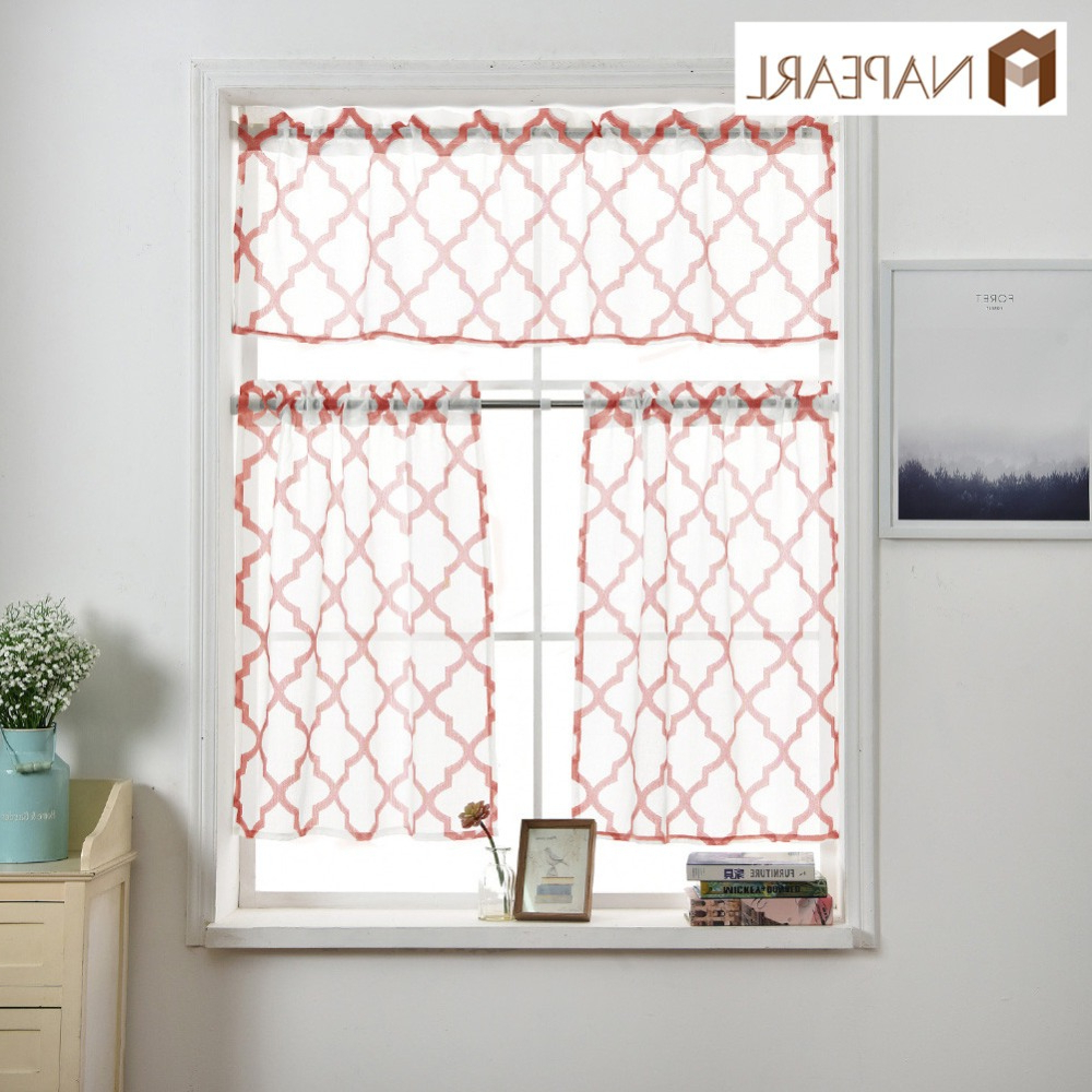 [%us $6.09 52% Off|napearl Window Valance And Tiers Jacquard Design Kitchen Short Curtains Rod Pocket Quality Stitching Cheap Kitchen Curtains In Inside 2021 Rod Pocket Kitchen Tiers|rod Pocket Kitchen Tiers Regarding Trendy Us $6.09 52% Off|napearl Window Valance And Tiers Jacquard Design Kitchen Short Curtains Rod Pocket Quality Stitching Cheap Kitchen Curtains In|best And Newest Rod Pocket Kitchen Tiers For Us $6.09 52% Off|napearl Window Valance And Tiers Jacquard Design Kitchen Short Curtains Rod Pocket Quality Stitching Cheap Kitchen Curtains In|preferred Us $ (View 9 of 20)