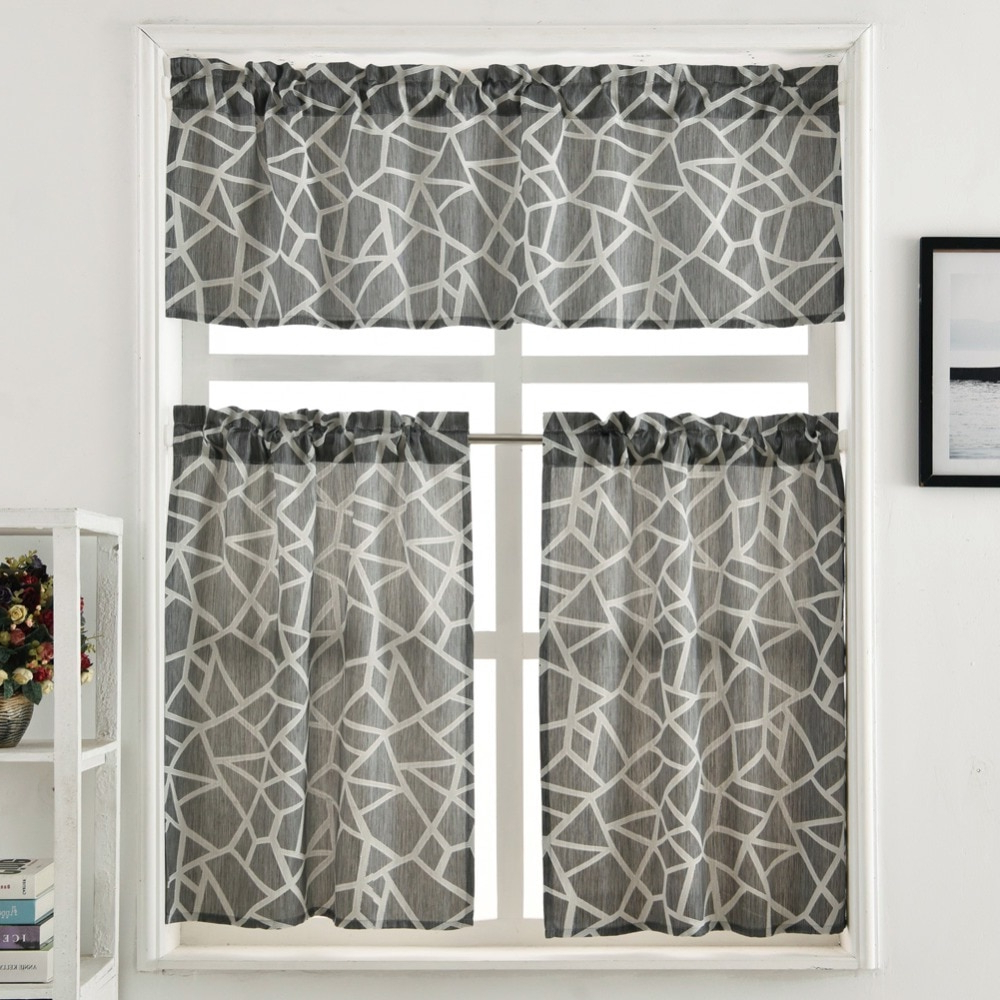 [%us $6.14 52% Off|kitchen Curtain Jacquard Design Rod Pocket Short Curtain Panel Valance And Tiers Window Treatment Modern Curtain Plaid Geometric In With Most Popular Rod Pocket Kitchen Tiers|rod Pocket Kitchen Tiers Pertaining To Most Recently Released Us $6.14 52% Off|kitchen Curtain Jacquard Design Rod Pocket Short Curtain Panel Valance And Tiers Window Treatment Modern Curtain Plaid Geometric In|2021 Rod Pocket Kitchen Tiers Within Us $6.14 52% Off|kitchen Curtain Jacquard Design Rod Pocket Short Curtain Panel Valance And Tiers Window Treatment Modern Curtain Plaid Geometric In|widely Used Us $ (View 11 of 20)