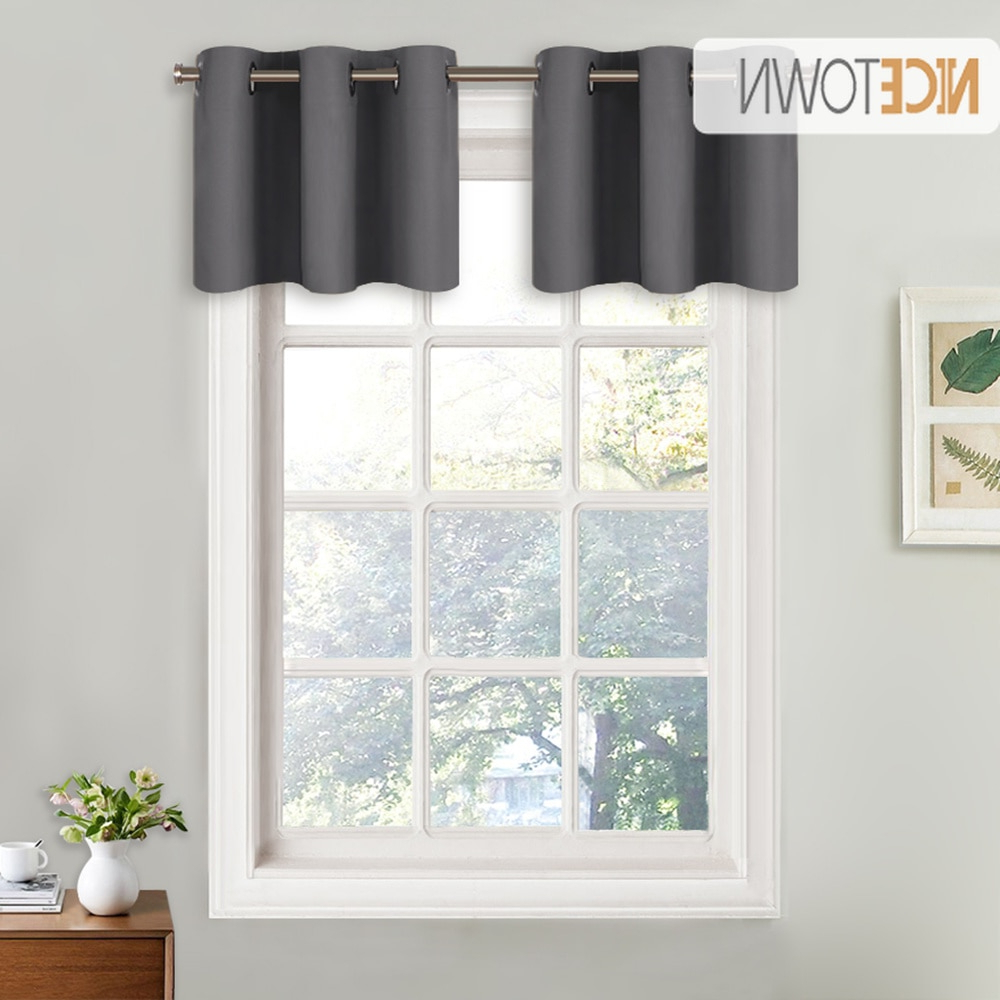 [%us $7.56 10% Off|nicetown Blackout Valance Curtain Thermal Insulated Eyelet Top Drape Panel For Kitchen Half Window Tier Valance 1 Panel In Curtains With Most Recently Released Luxurious Kitchen Curtains Tiers, Shade Or Valances|luxurious Kitchen Curtains Tiers, Shade Or Valances Intended For Most Current Us $7.56 10% Off|nicetown Blackout Valance Curtain Thermal Insulated Eyelet Top Drape Panel For Kitchen Half Window Tier Valance 1 Panel In Curtains|most Recent Luxurious Kitchen Curtains Tiers, Shade Or Valances Inside Us $7.56 10% Off|nicetown Blackout Valance Curtain Thermal Insulated Eyelet Top Drape Panel For Kitchen Half Window Tier Valance 1 Panel In Curtains|2021 Us $ (View 20 of 20)