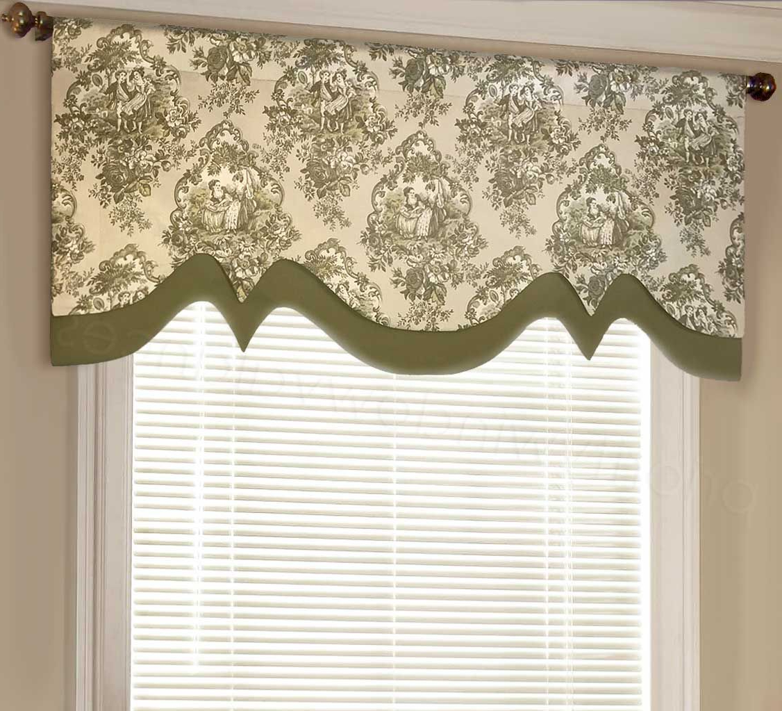 Valance Window (View 2 of 20)