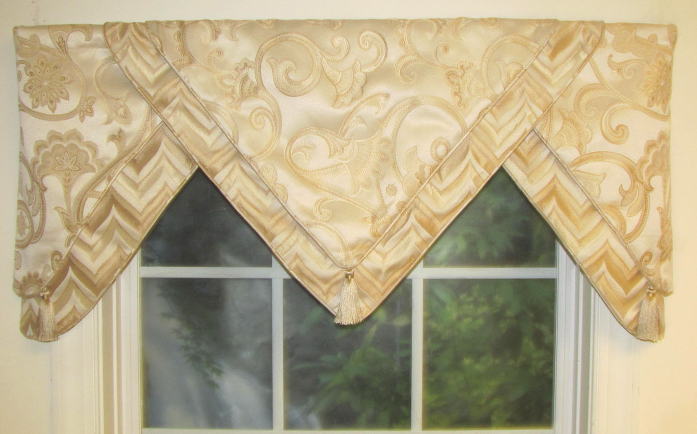 Valances, Swags & Window Toppers – Thecurtainshop Regarding Most Popular Tailored Toppers With Valances (View 4 of 20)