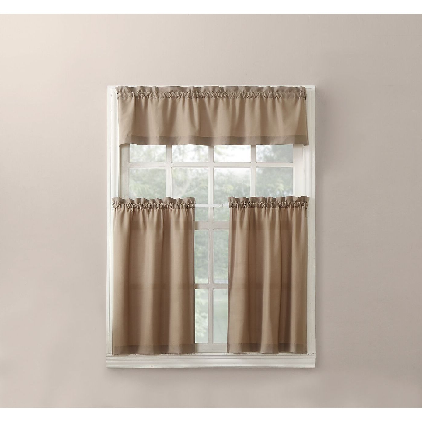 Wallace Window Kitchen Curtain Tiers Throughout Trendy No (View 16 of 20)