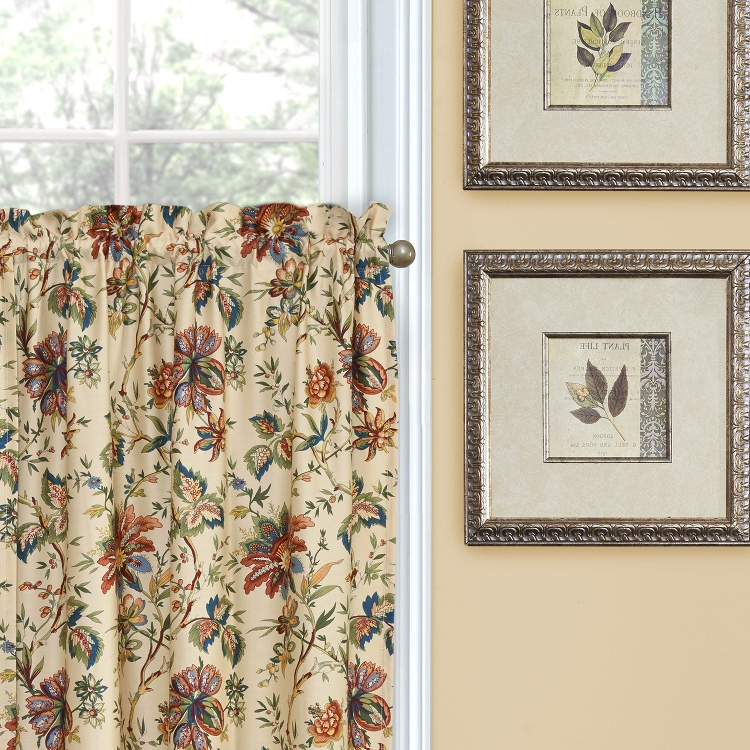 Waverly Felicite Curtain Tiers Regarding Famous Waverly Felicite Tier Pair – 60x (View 5 of 20)