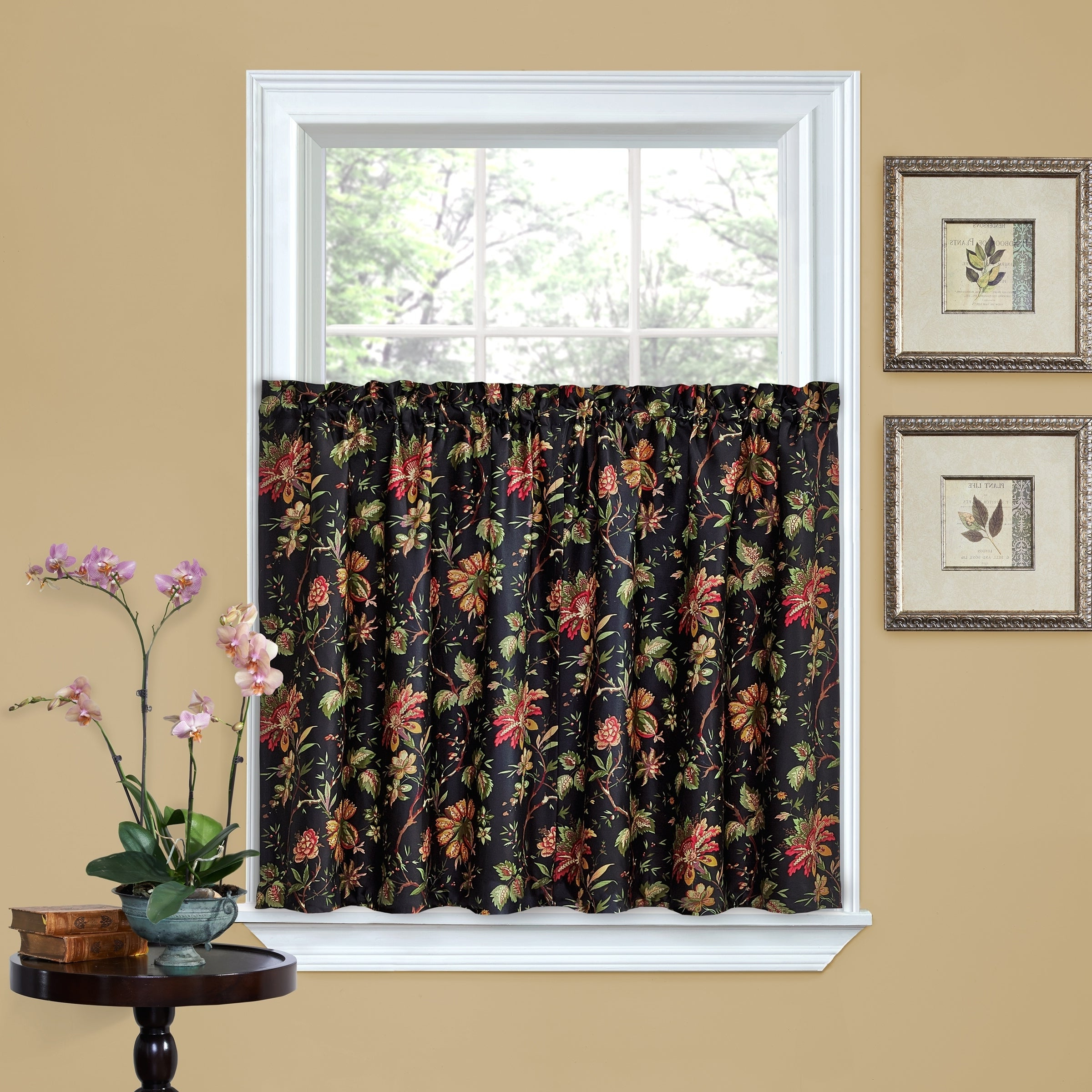 Waverly Kensington Bloom Window Tier Pairs Throughout Most Popular Waverly Felicite Tier Pair – 60x (View 11 of 20)