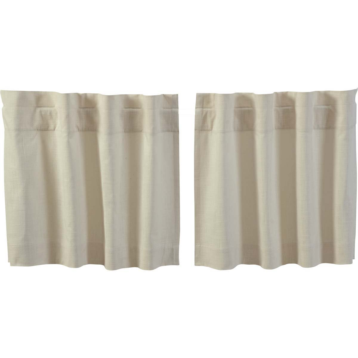 Well Known Amazon: Vhc Brands Farmhouse Kitchen Window Curtains Intended For Simple Life Flax Tier Pairs (View 20 of 20)