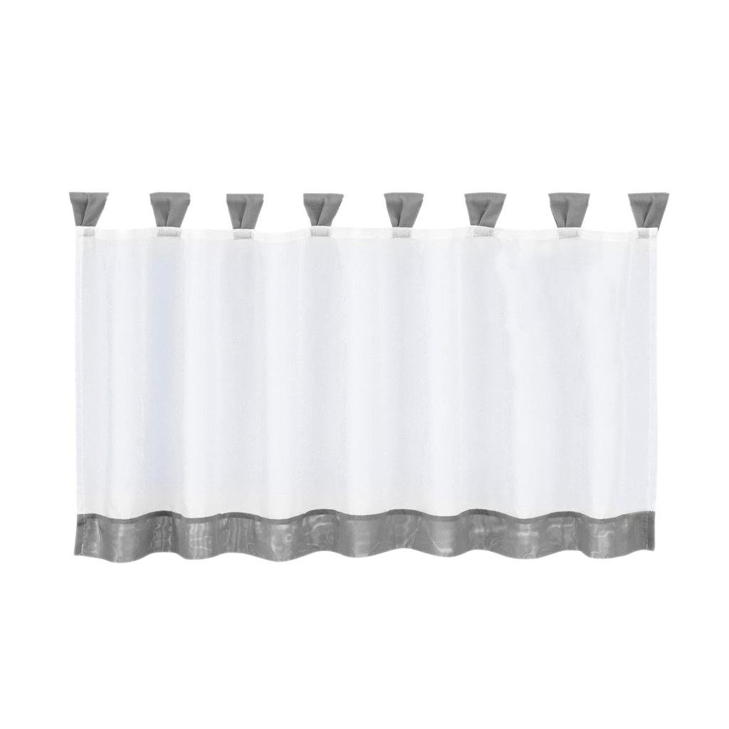 Well Known Details About Window Curtain Tiers 6 Size Rod Pocket Voile Drape Kitchen Laundry Bedroom Throughout Rod Pocket Kitchen Tiers (View 14 of 20)