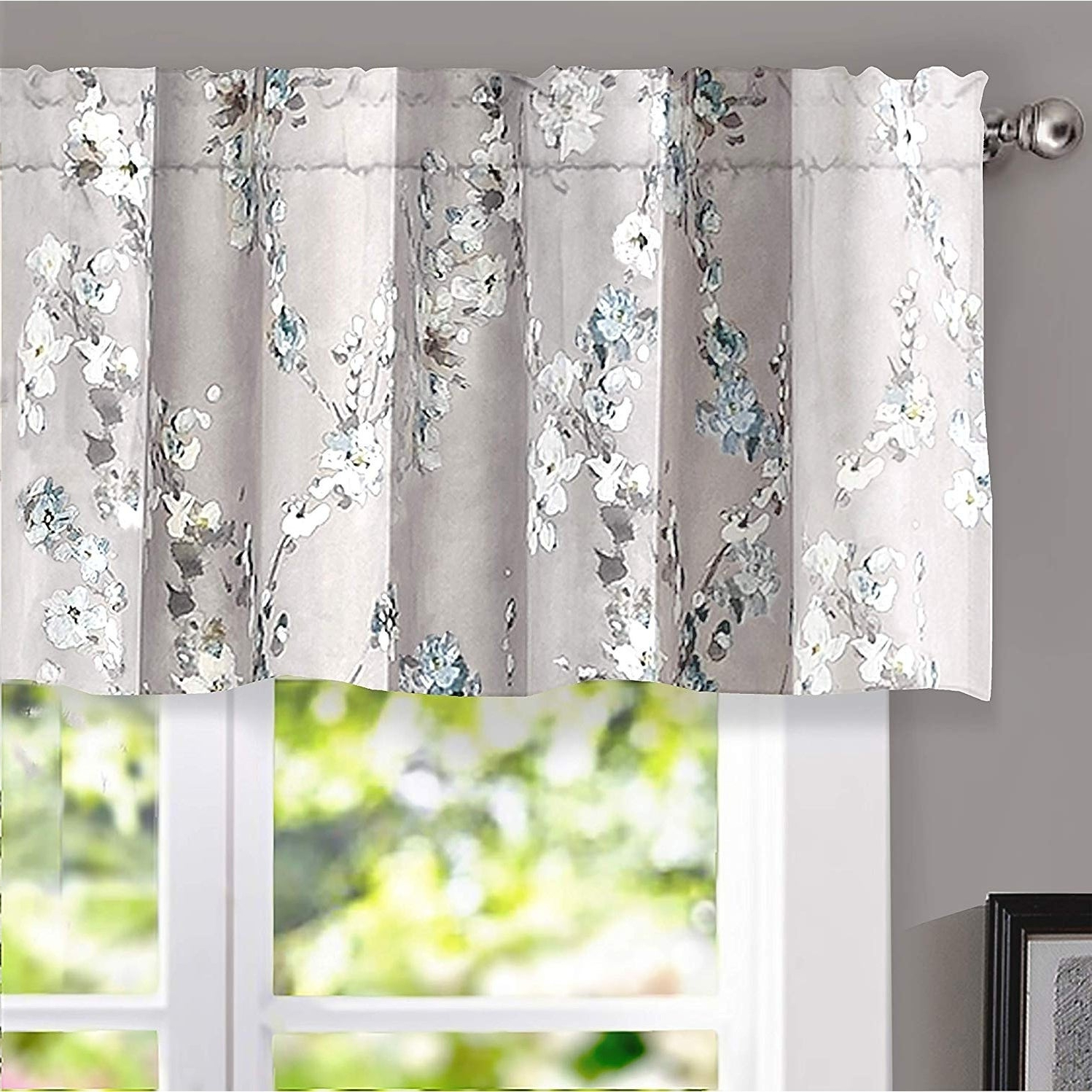 Featured Photo of Floral Pattern Window Valances