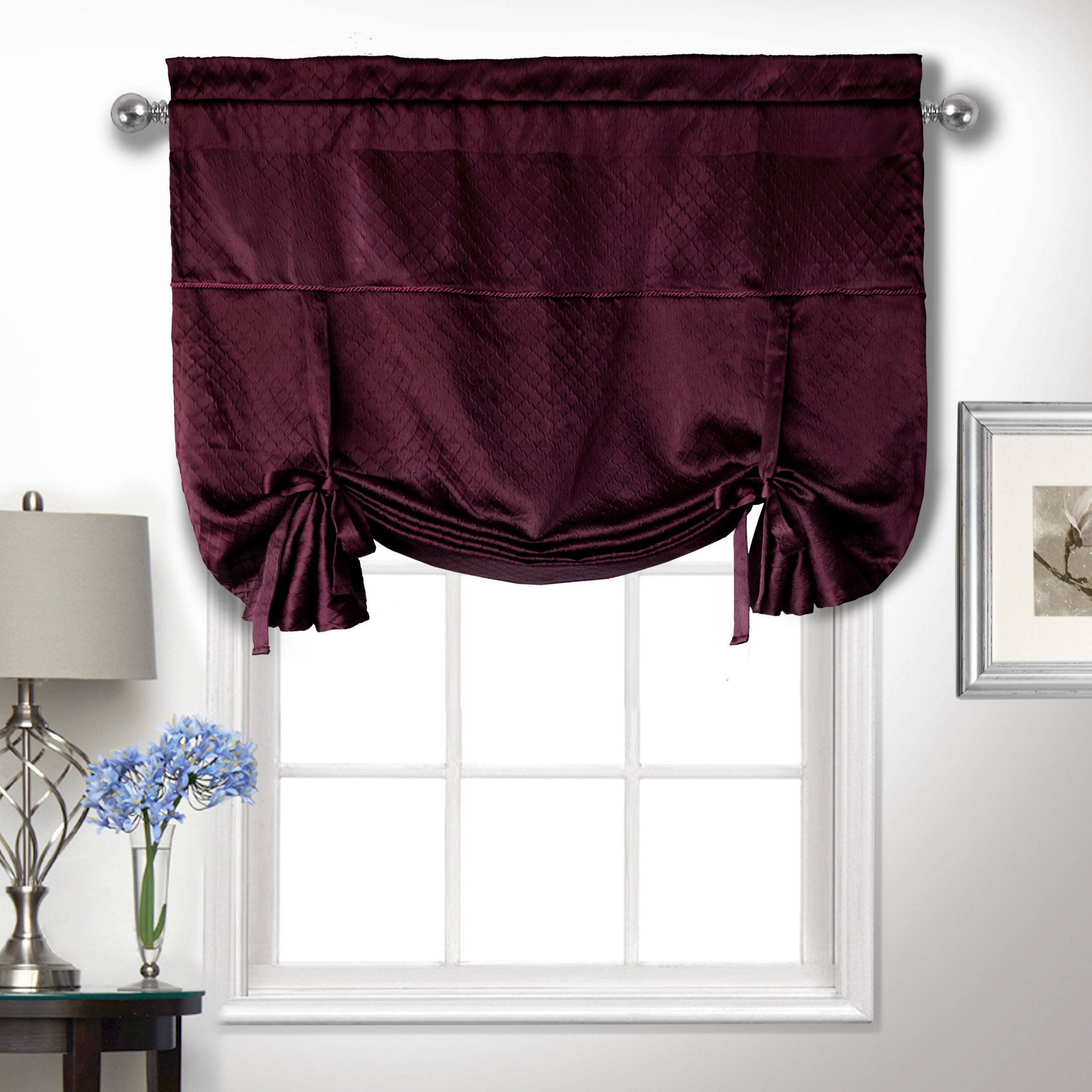 Well Known Solana Topper Curtain Valance In Tailored Toppers With Valances (View 5 of 20)