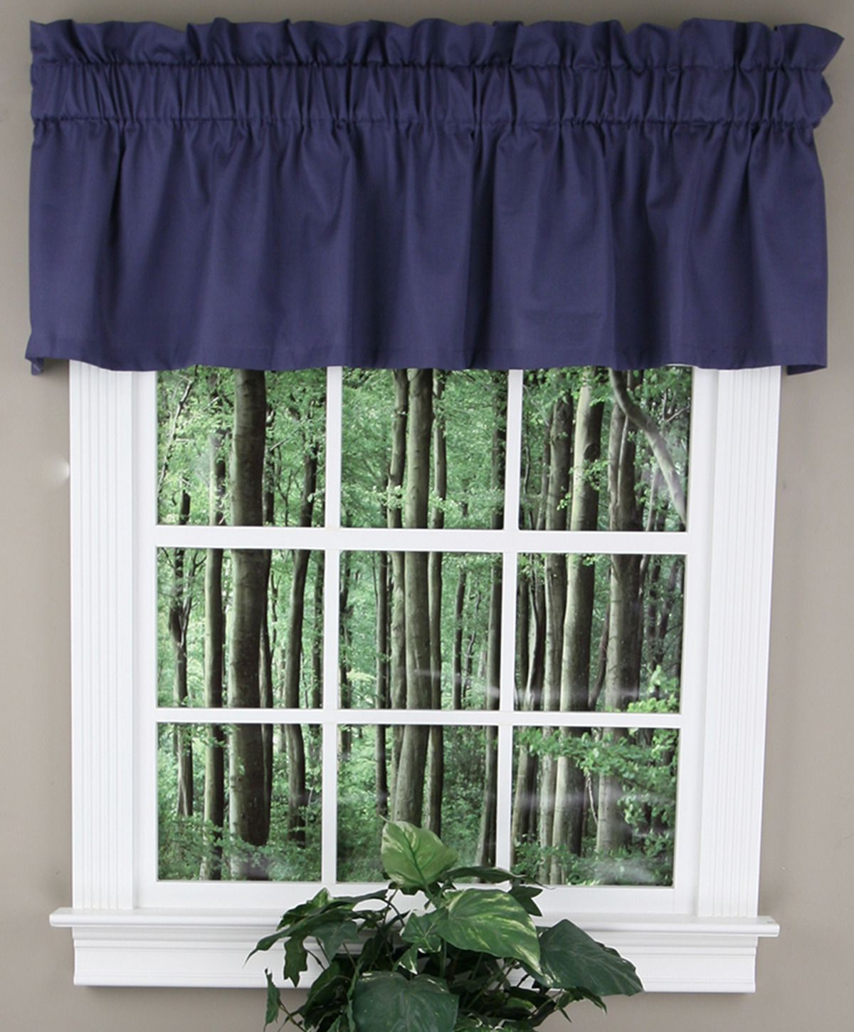Well Known Tailored Toppers With Valances Inside Logan Solid Tailored Valance Features A Solid Woven Pattern (View 10 of 20)