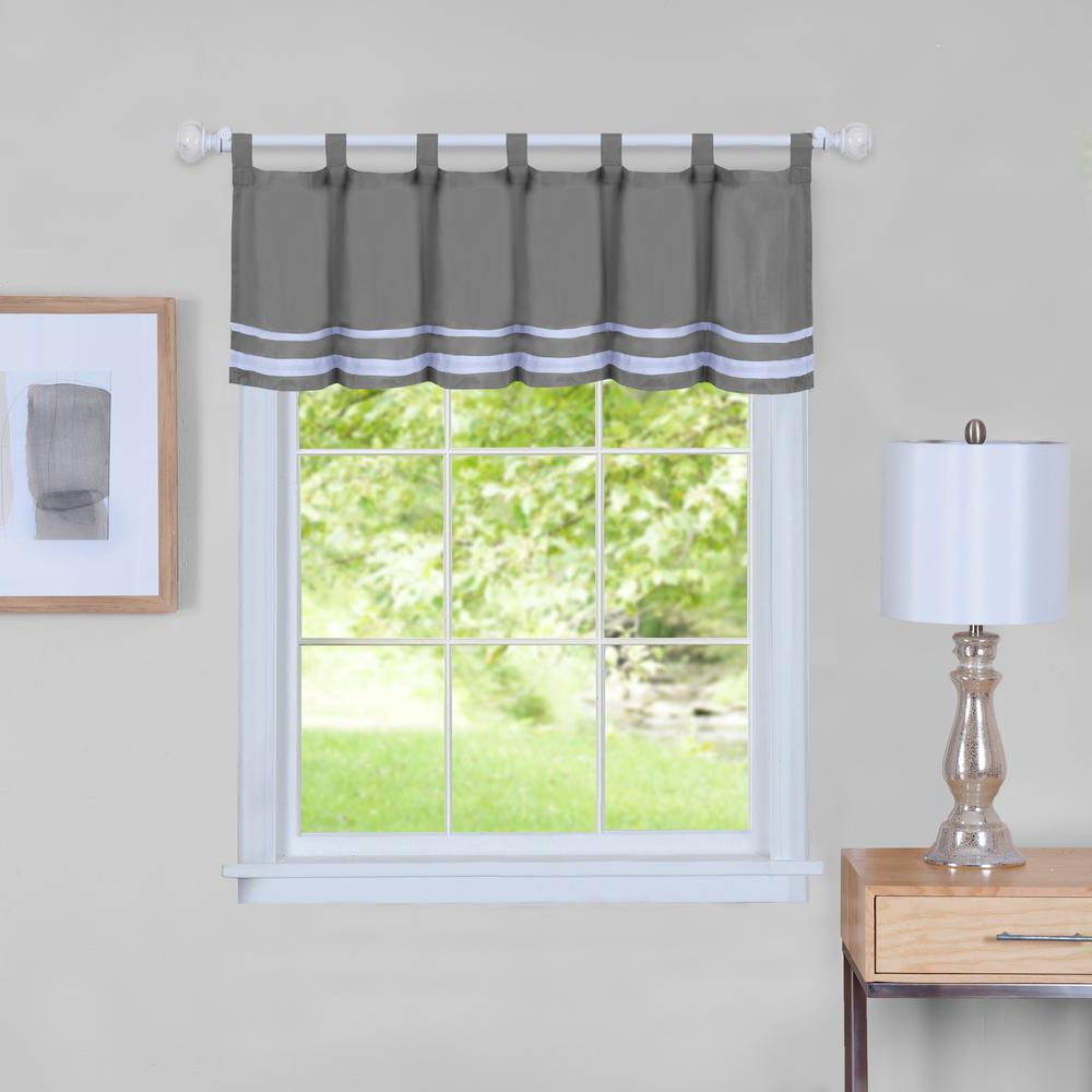 Well Known Wallace Window Kitchen Curtain Tiers Throughout Aqua Achim Home Furnishings Wallace Window Kitchen Curtain (View 8 of 20)