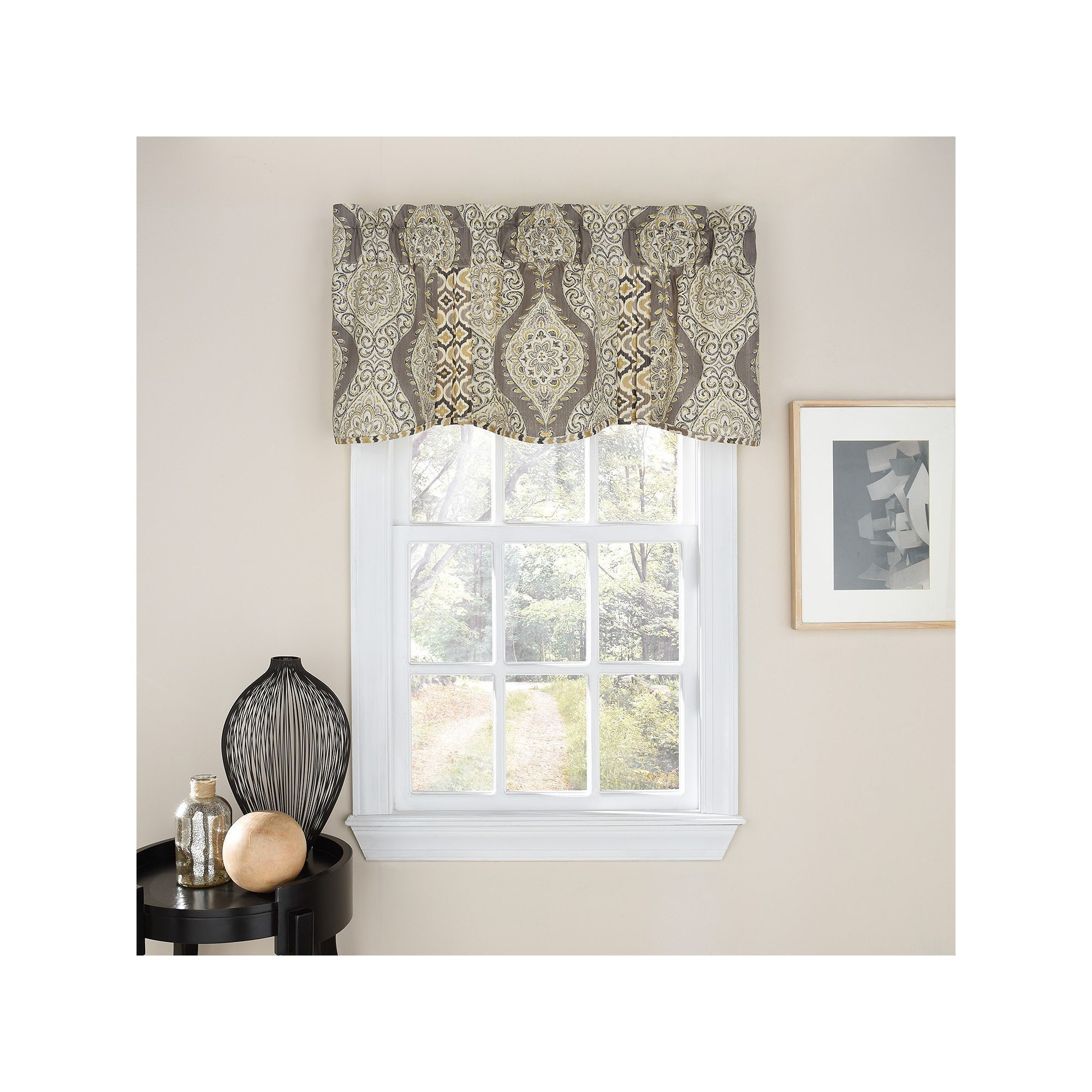 Well Known Waverly Moonlight Medallion Window Valance (View 14 of 20)