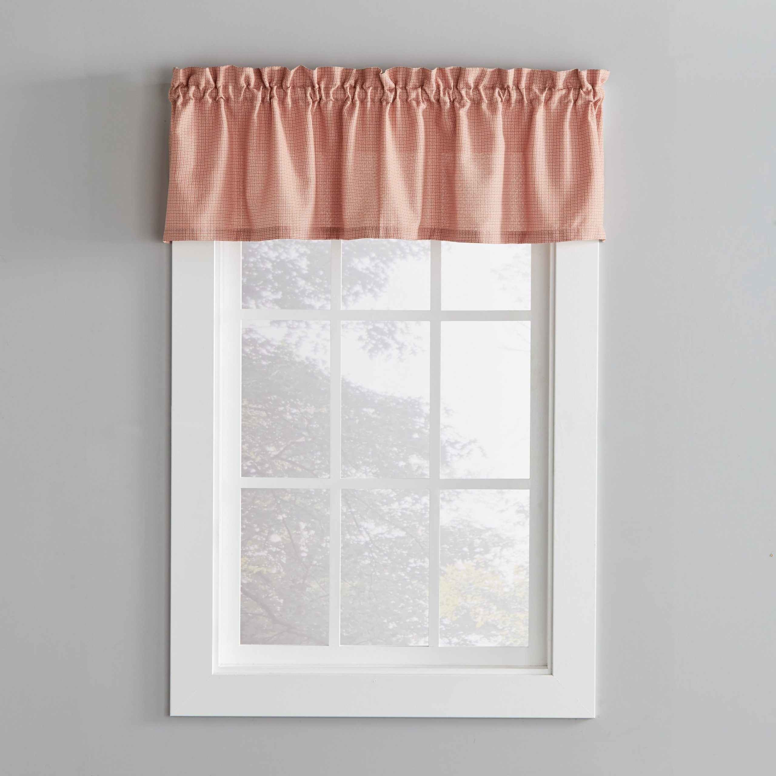 Well Liked Flinders Forge 30 Inch Tiers In Garnet Pertaining To Porch & Den Lorentz Rust 13 Inch Valance (View 16 of 20)