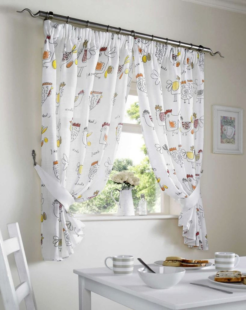 Widely Used Chicken Kitchen Curtains – Boatsafty (View 20 of 20)