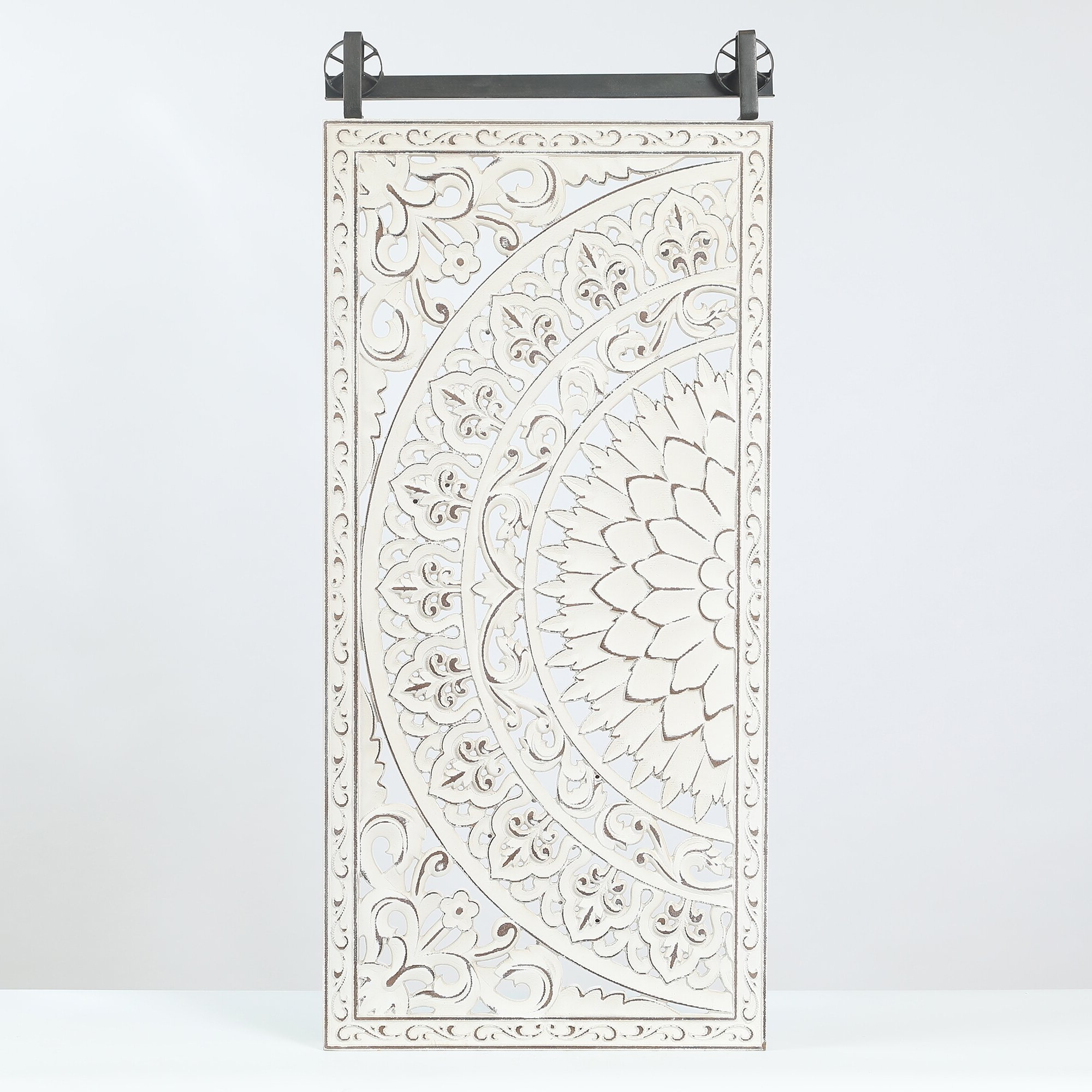 2019 3 Piece Carved Ornate Wall Décor Set Inside Decorative Carved Floral Wall Décor (View 5 of 20)