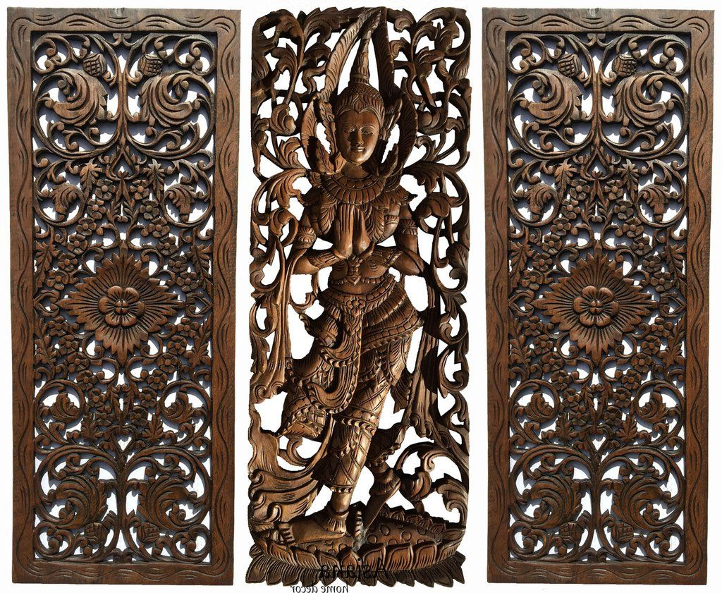 2019 Multi Panels Oriental Home Decor (View 14 of 20)