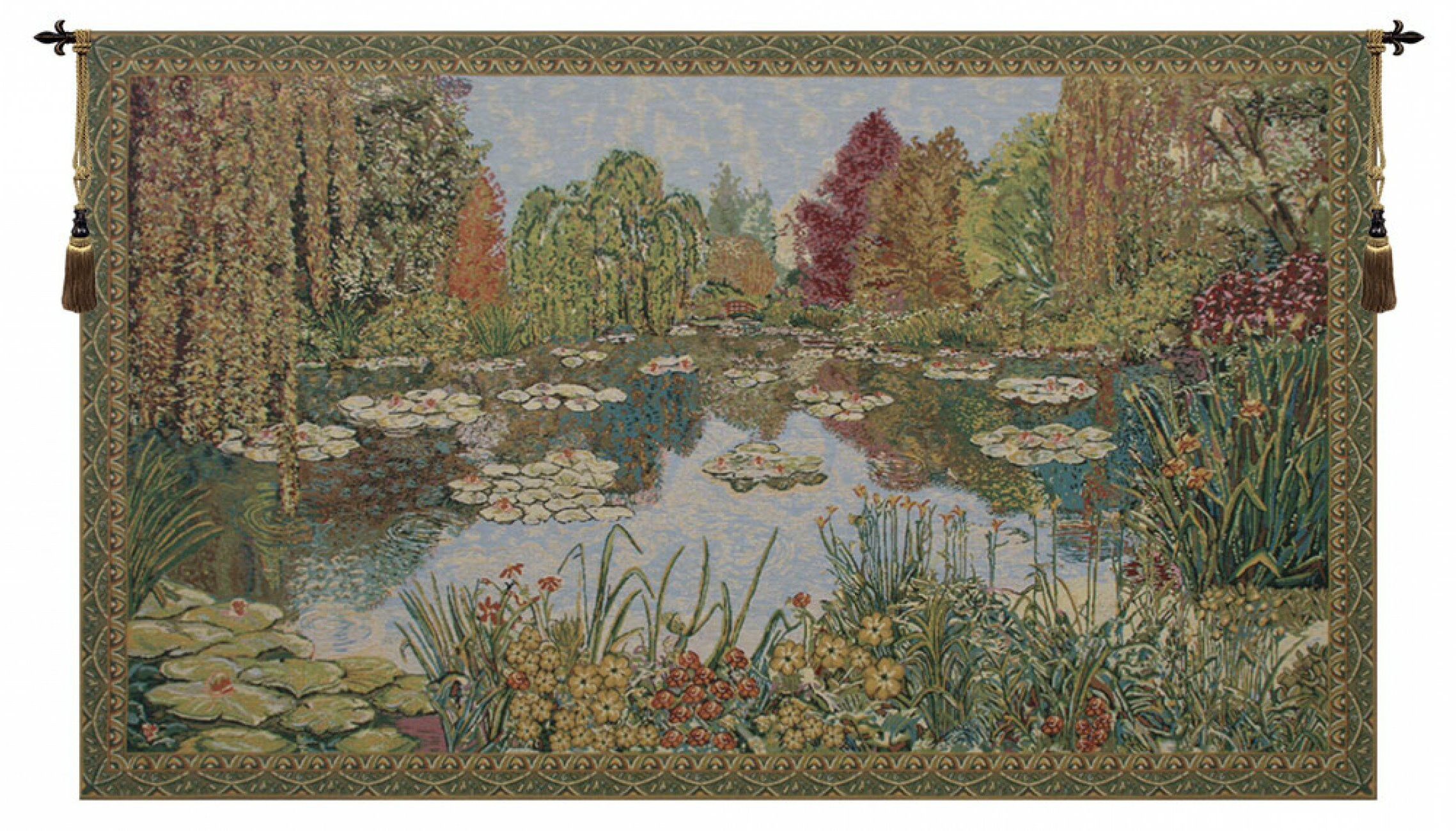 2019 Parc De Monet Wall Hanging Regarding Blended Fabric The Mulberry Tree – Van Gogh Wall Hangings (View 18 of 20)