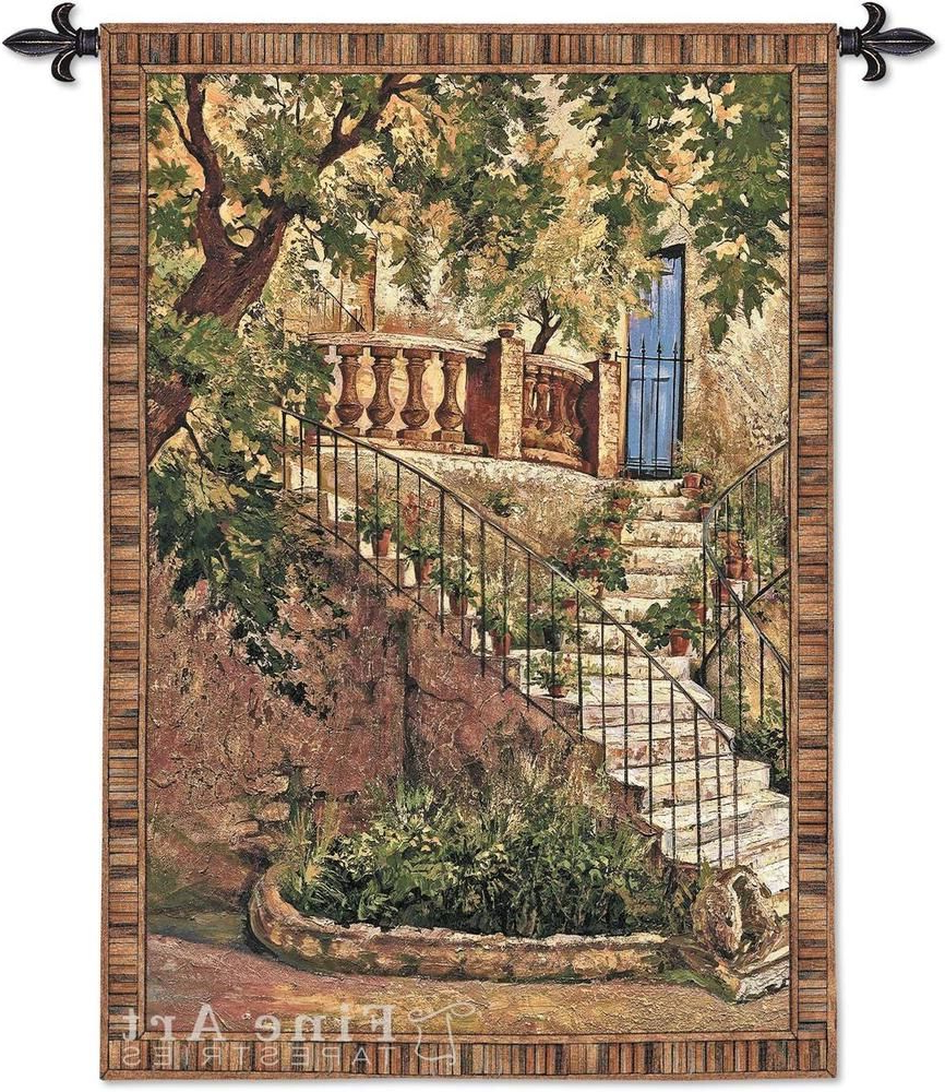 2019 Pin On Tuscan Home Decor With Blended Fabric Italian Wall Hangings (View 4 of 20)