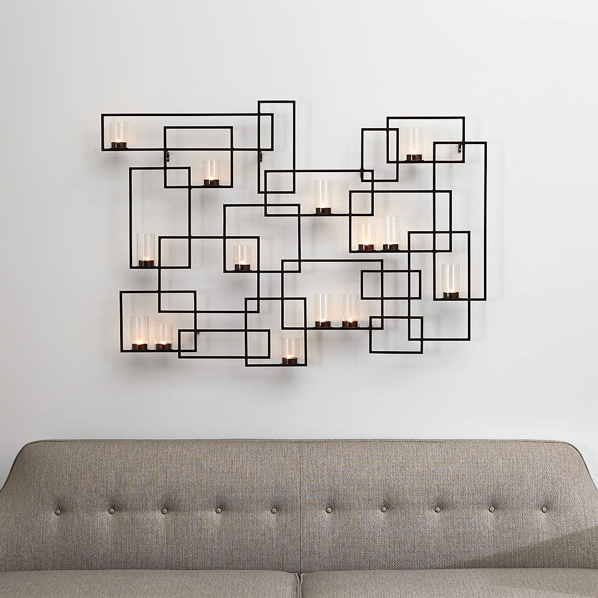 2020 Believe Metal Wall Décor By Red Barrel Studio For Circuit Metal Wall Candle Holder + Reviews (View 20 of 20)