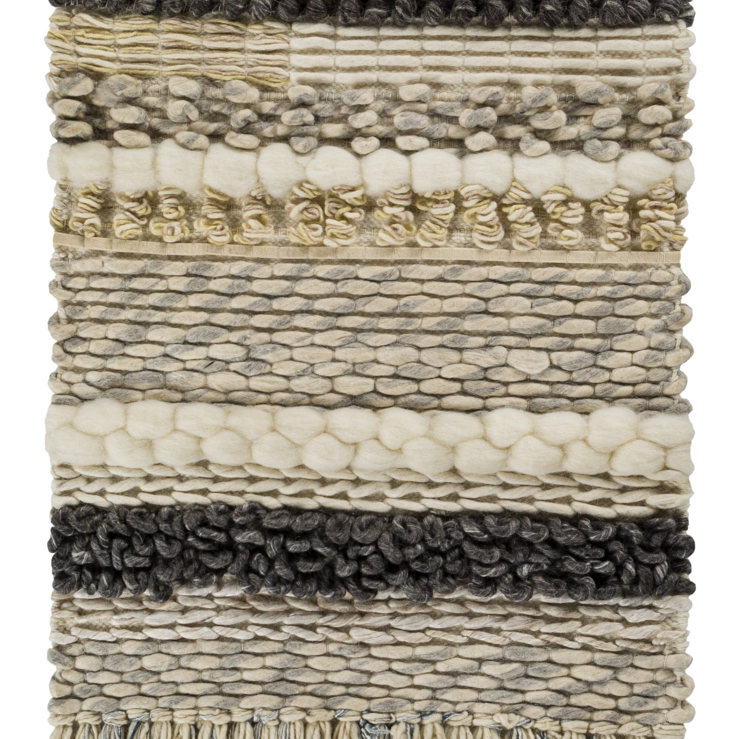 2020 Blended Fabric Ranier Wall Hangings With Hanging Accessories Included Regarding Teresina Wool And Viscose Wall Hanging With Hanging Accessories Included (View 3 of 20)