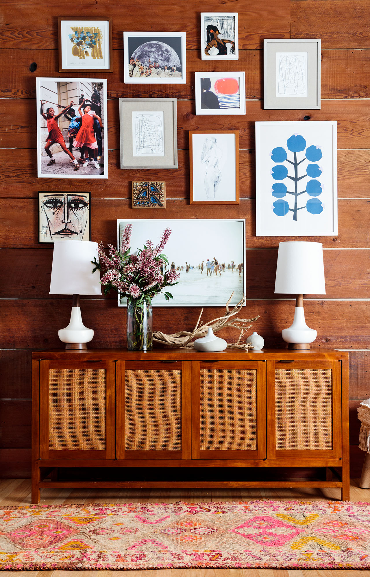 2020 Creative Wall Art Ideas For Every Blank Spot In Your Home With Regard To Blended Fabric Hello Beauty Full Wall Hangings (View 15 of 20)
