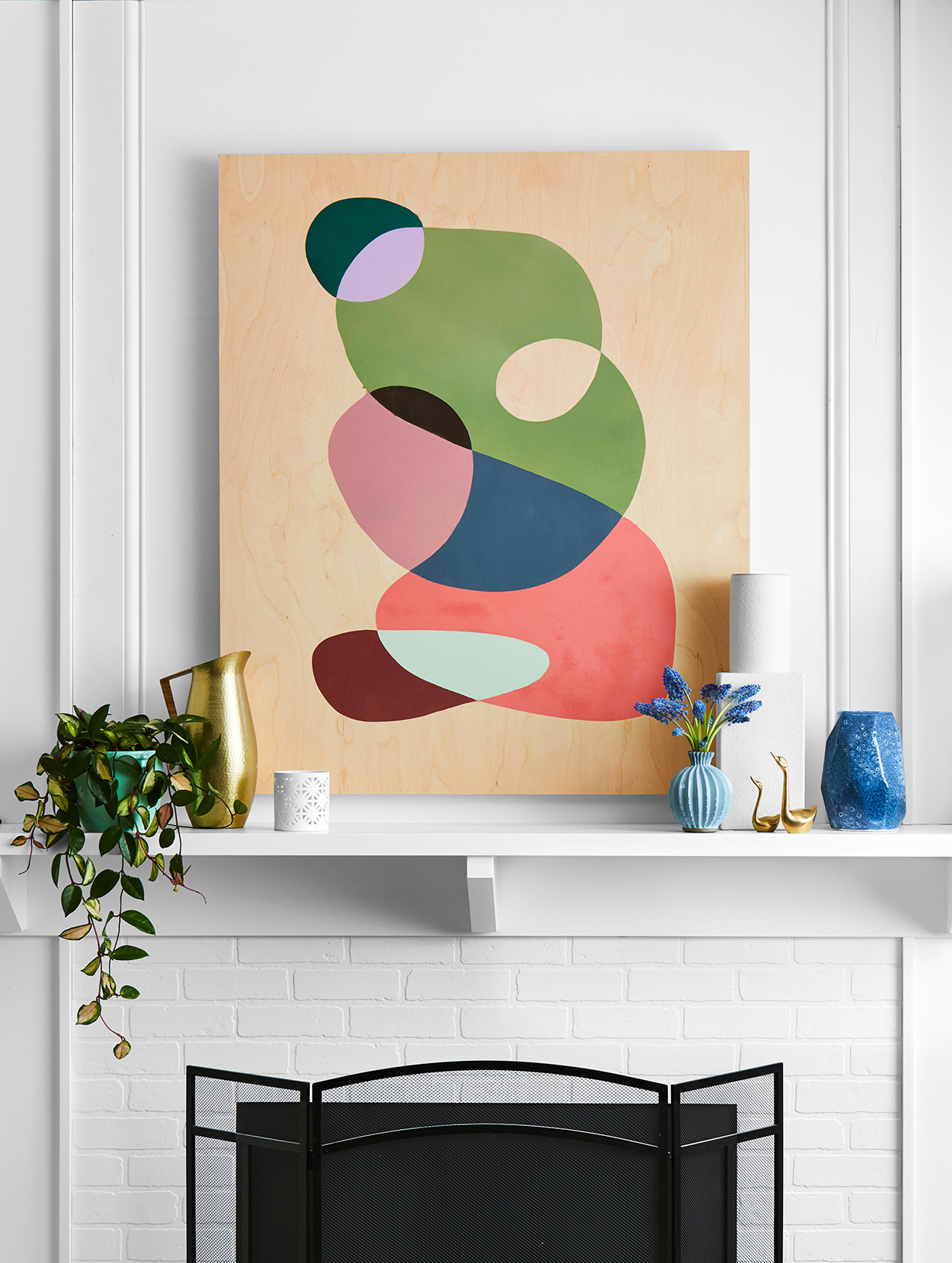 2020 Diy Wall Art Projects That Are Surprisingly Affordable Within Blended Fabric Hello Beauty Full Wall Hangings (View 10 of 20)