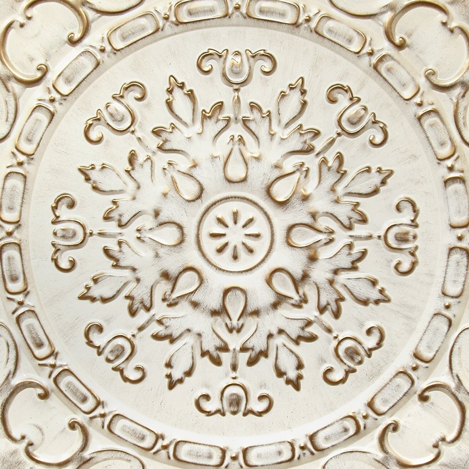 2020 European Medallion Wall Décor With Stratton Home Decor White European Medallion Wall Decor (View 11 of 20)