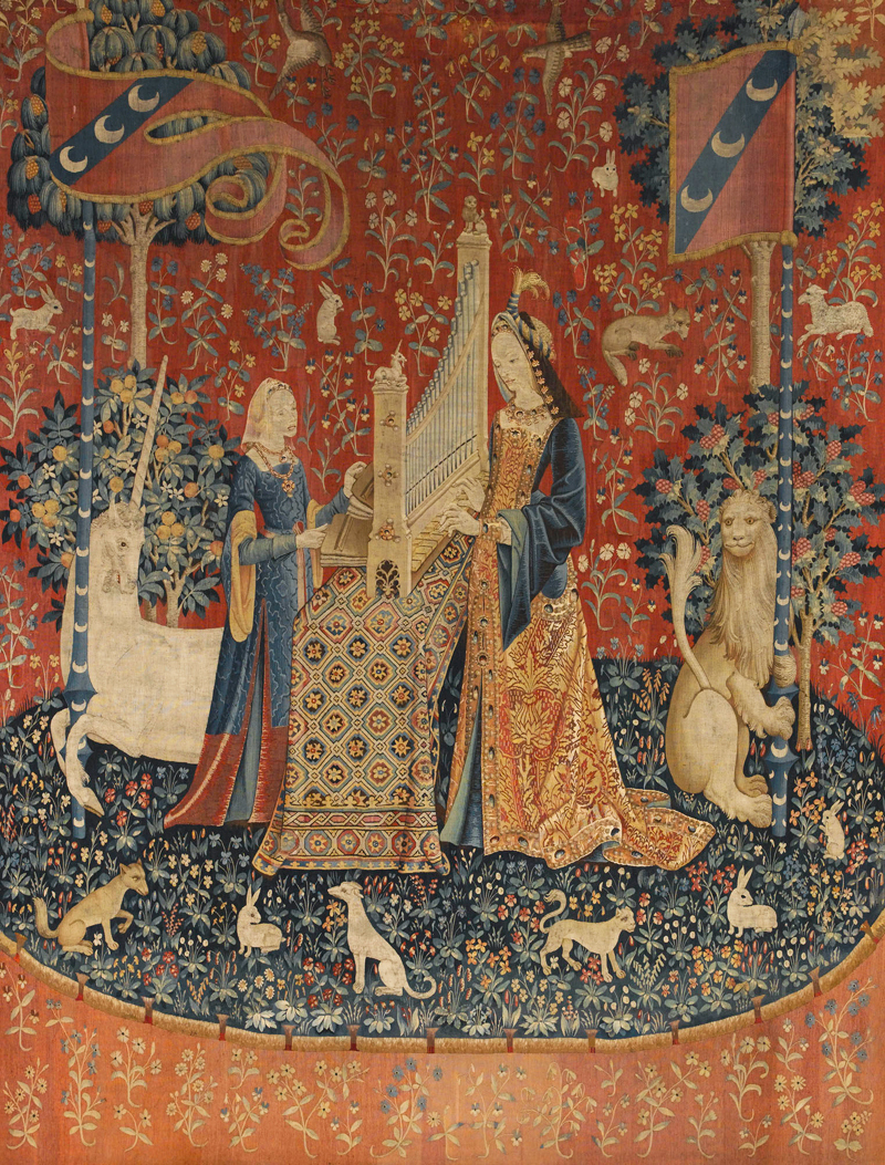 2020 Lion I European Tapestries In 貴婦人と一角獣 – Pesquisa Google In (View 9 of 20)