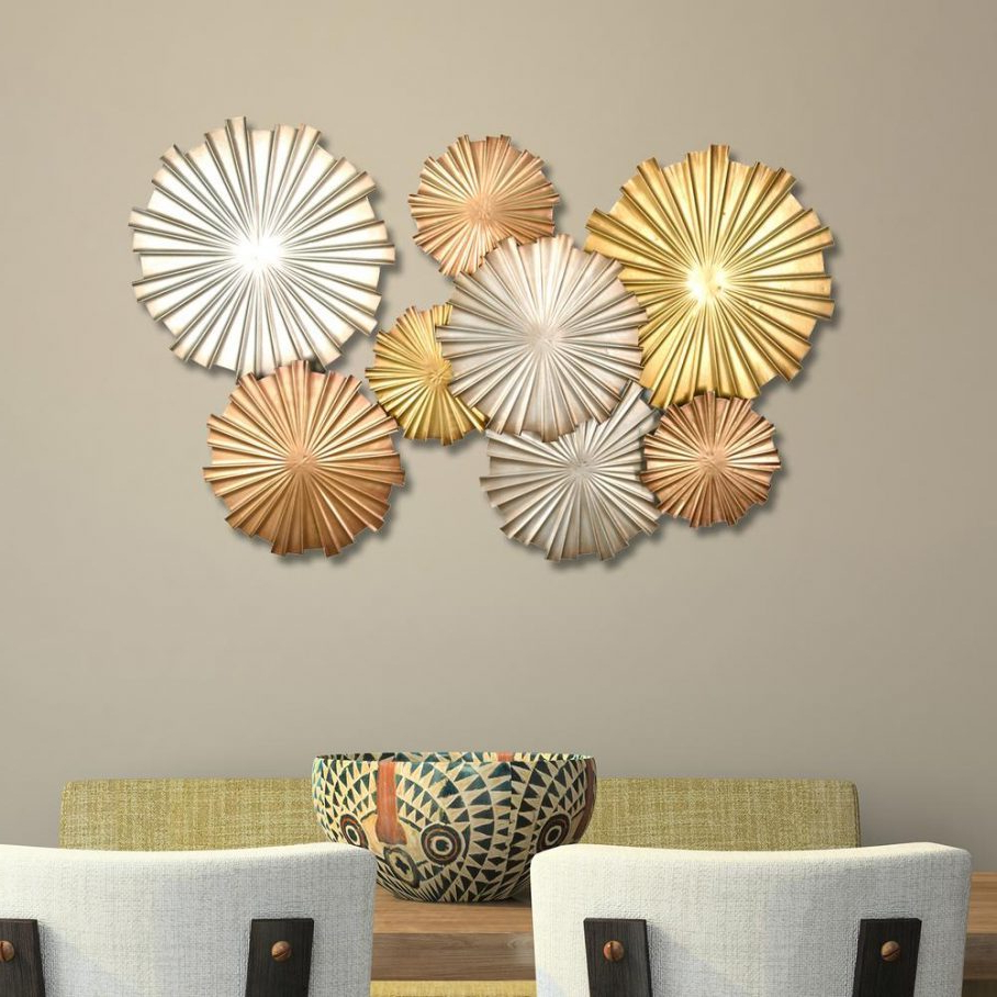 2020 Metal Wall Decor At Wayfair For Dining Room South Africa For Rustic Metal Wall Décor By Winston Porter (View 18 of 20)