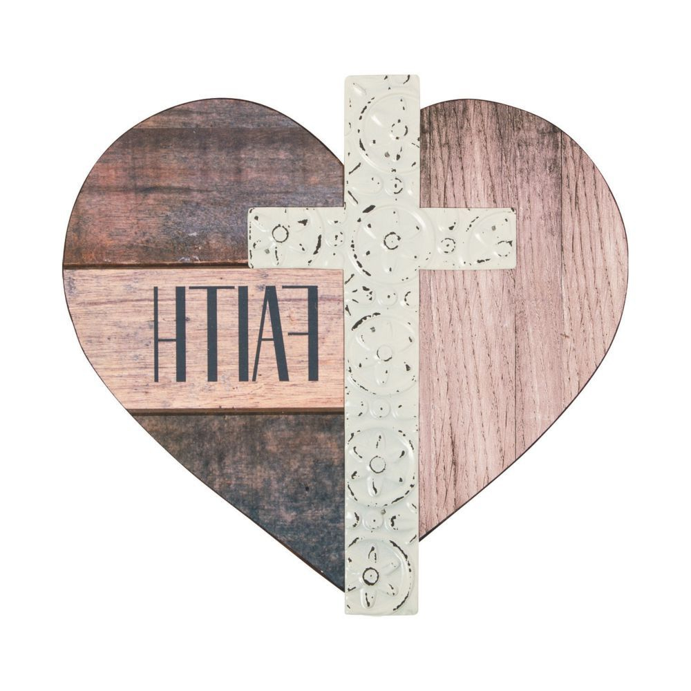 """2020 Pin On Cross's On Sale With Heart Shaped """"home"""" Sign Wall Décor (View 20 of 20)"""