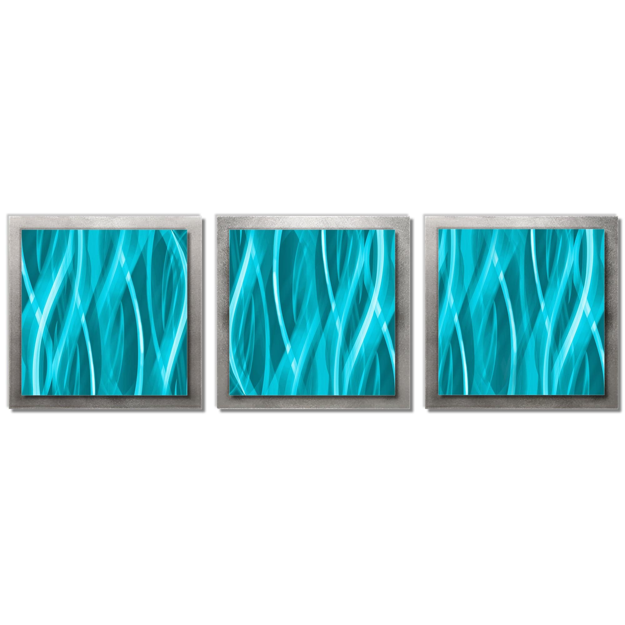 2020 Strategy Rectangle Wall Décor By Orren Ellis Throughout 3 Piece Modern Essence Wall Décor Set (View 9 of 20)
