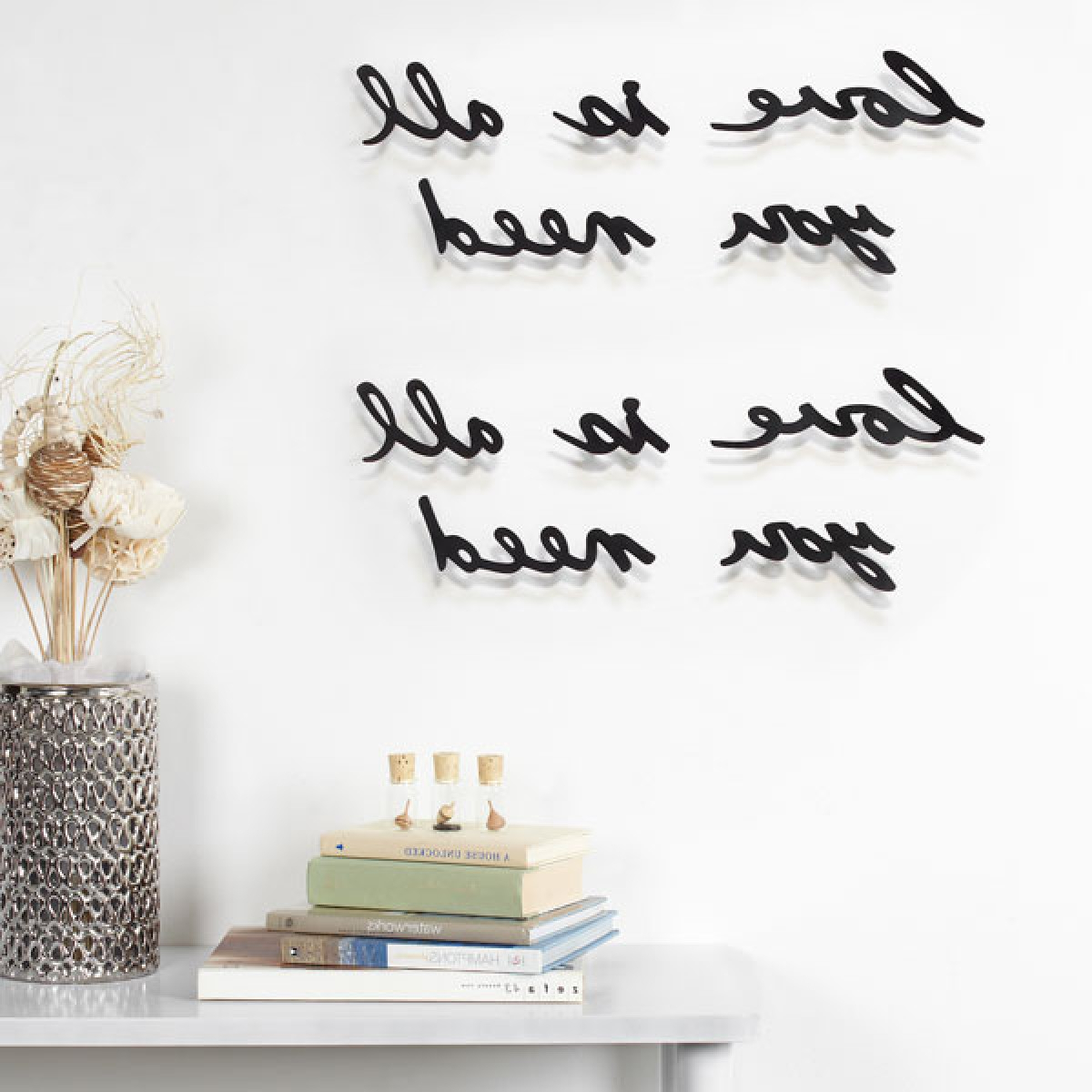 2020 Umbra Mantra Love Wall Decor Intended For Mantra Do What You Love Wall Décor (View 9 of 20)