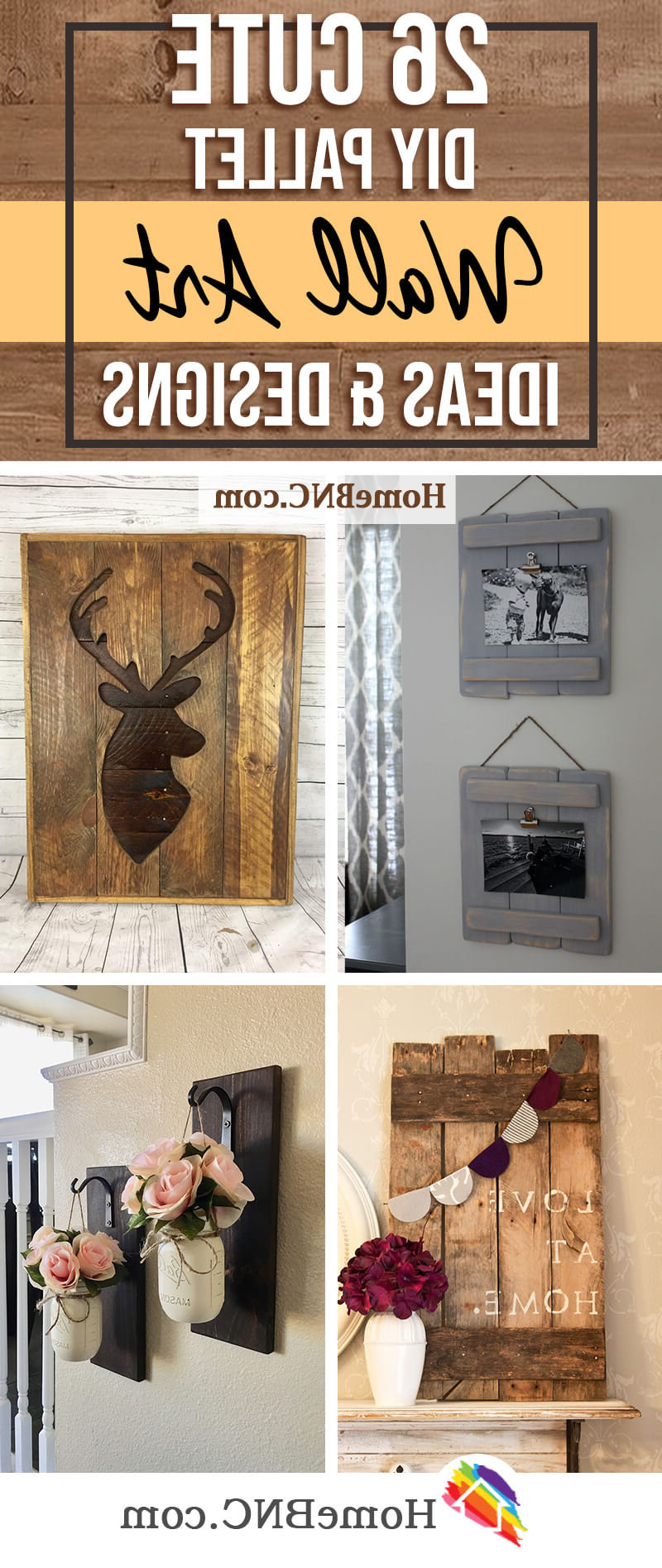 26 Best Diy Pallet Wall Decor And Art Ideas For 2021 Pertaining To Fashionable Blended Fabric Old Rugged Cross Wall Hangings (View 14 of 20)