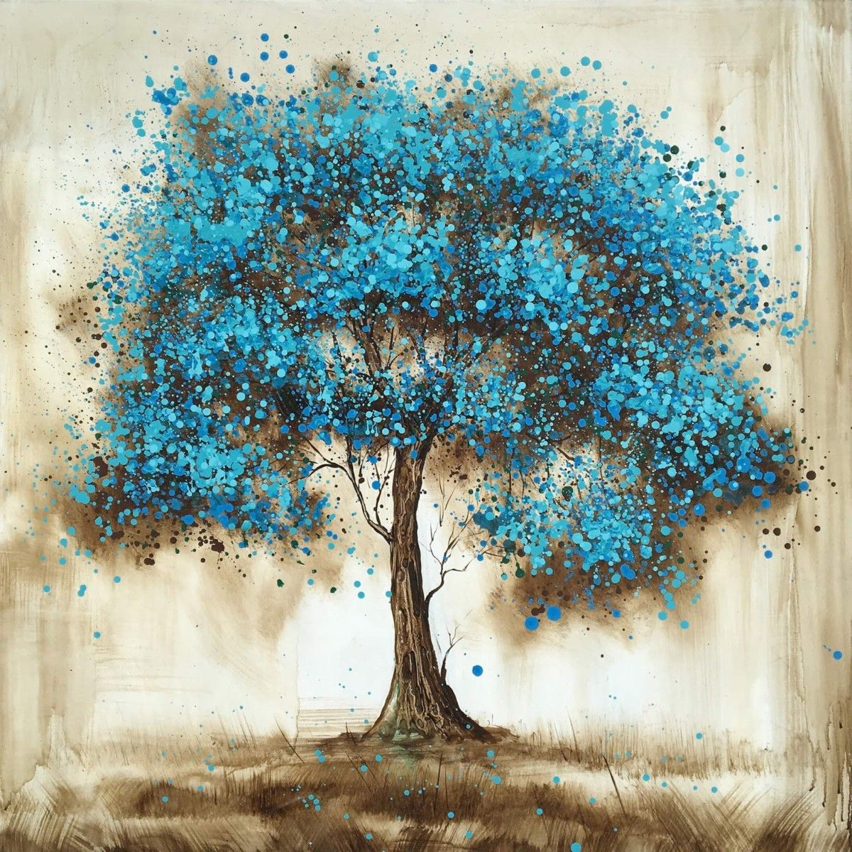 50 Amazing Tree Oil Painting Ideas (View 15 of 20)