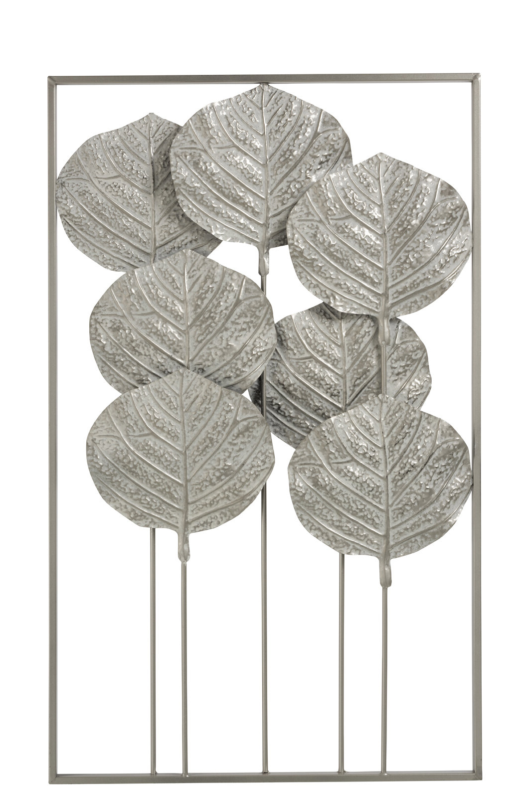 7 Leaves Metal Wall Décor With Regard To Latest Olive/gray Metal Wall Decor By Brayden Studio (View 8 of 20)