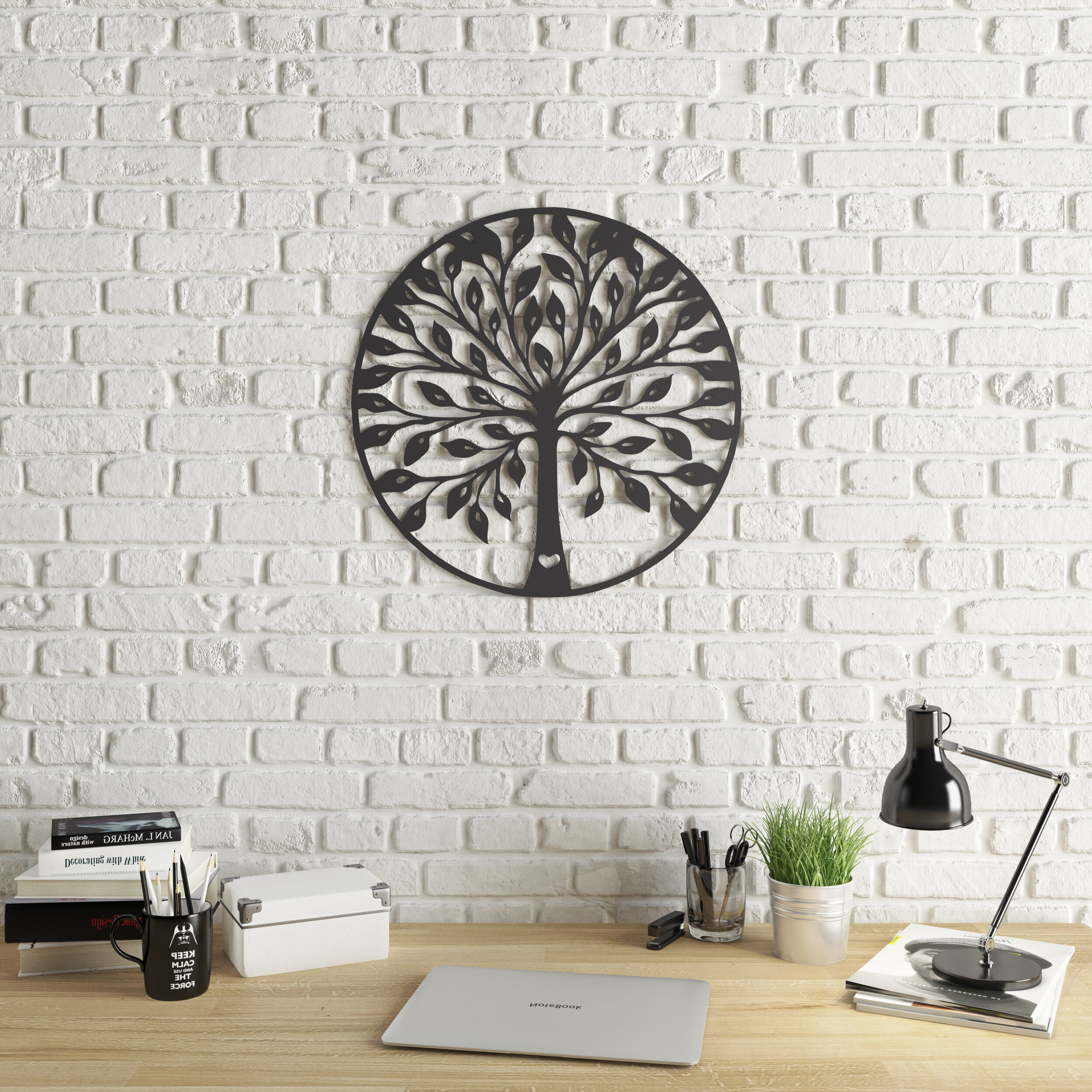 Abstract Tree Wall Décor By Winston Porter Regarding Most Recent Tree Of Life Wall Décor (View 8 of 20)
