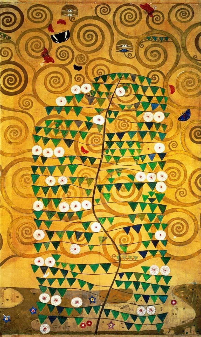 """Amazon: Klimt Tree Of Life (20th) Wall Decal 50""""x84 Pertaining To Most Popular Blended Fabric Klimt Tree Of Life Wall Hangings (View 19 of 20)"""