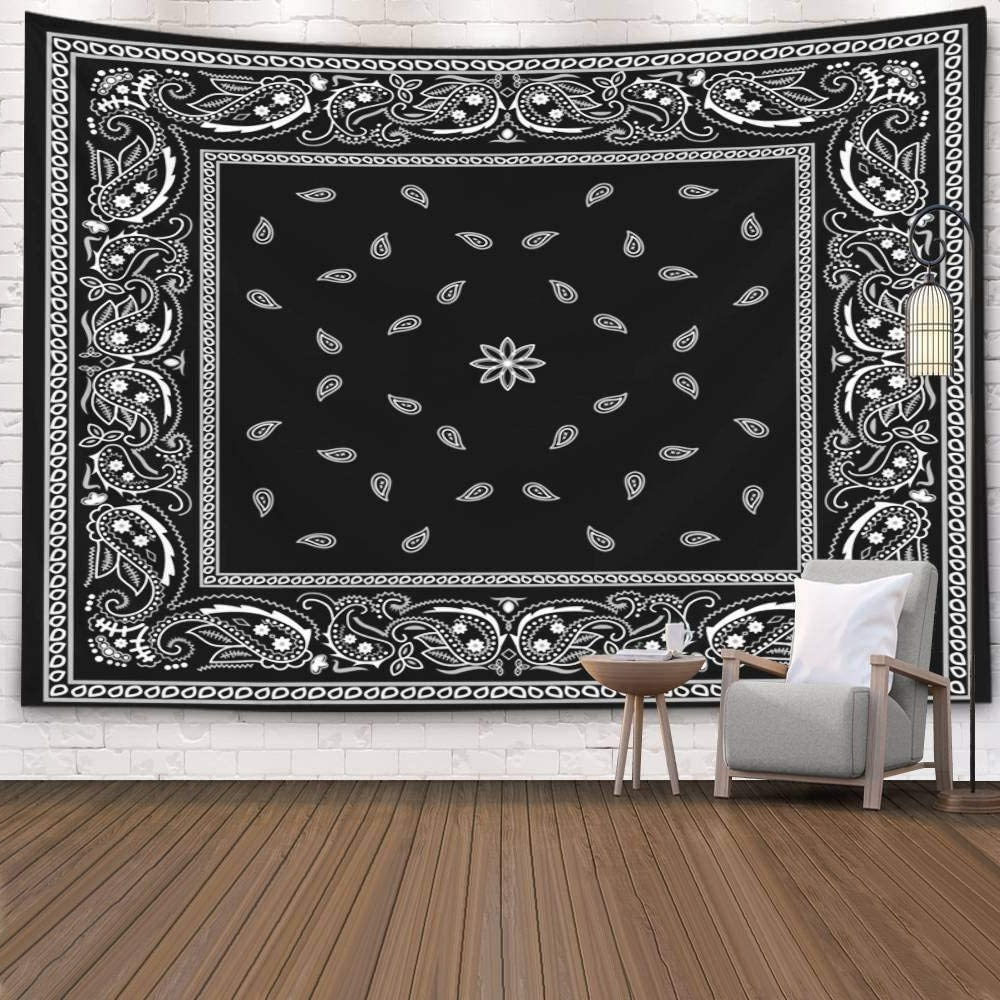 Amazon: Pamime Tapestry Wall Hanging,home Decor Tapestry Pertaining To Well Known Blended Fabric In His Tapestries And Wall Hangings (View 11 of 20)