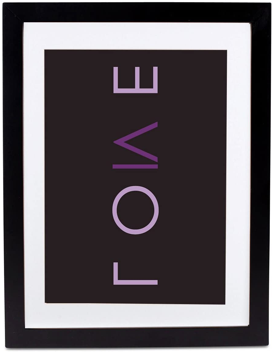 Amazon – Positively Home Love Textual Framed Art (with Pertaining To 2019 I Love You More Rectangle Textual Art (View 12 of 20)