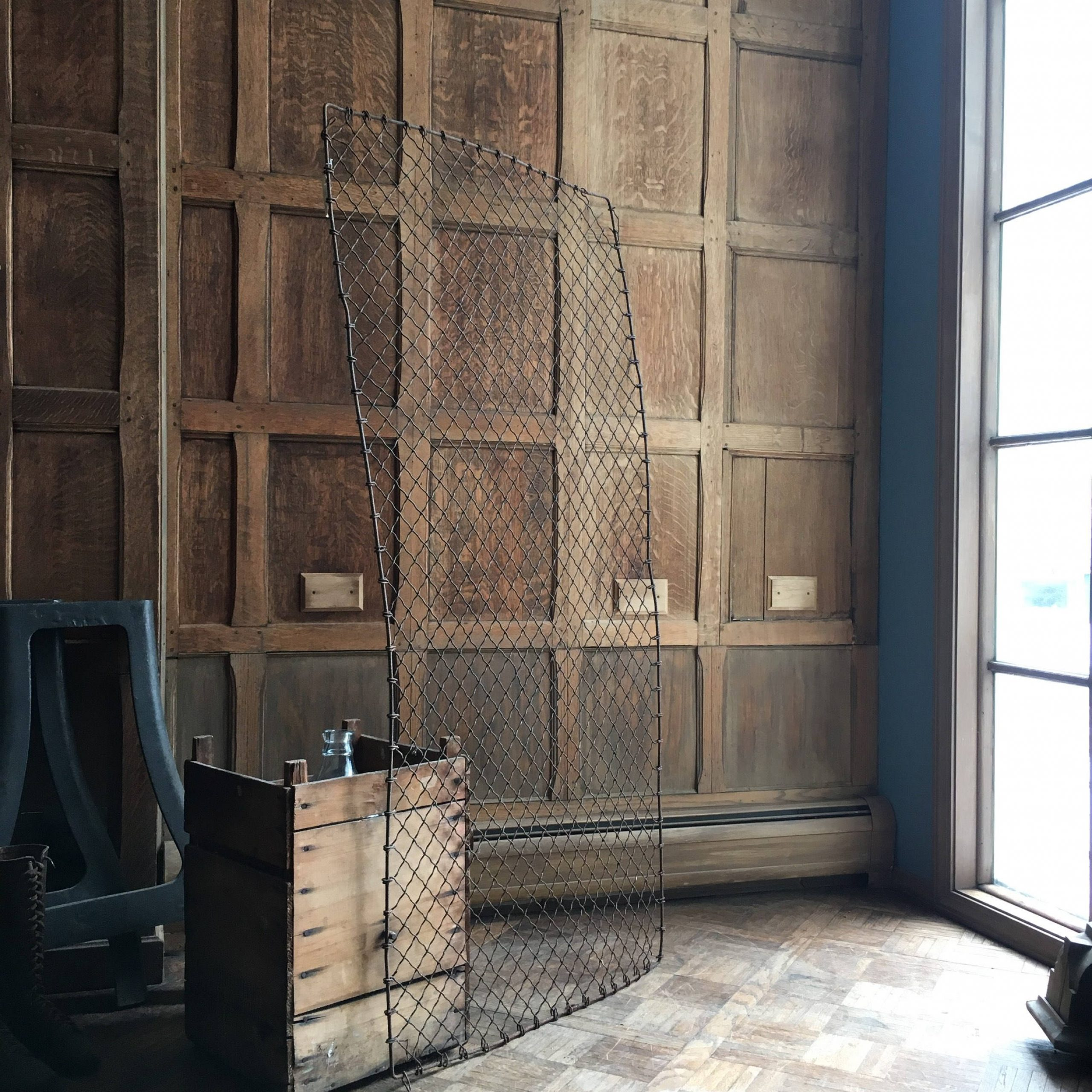 Antique Iron Alloy Wall Décor Pertaining To Latest Large Antique Metal Fence Panel, Antique Rusty Iron Gate (View 8 of 20)