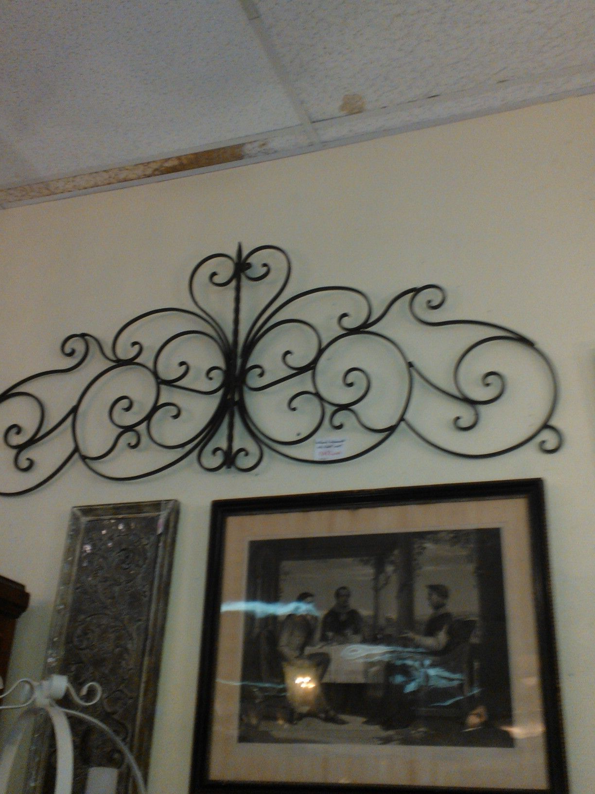 Antique Iron Alloy Wall Décor Pertaining To Most Popular Pinmaurolouvemazeredo On Charming (Gallery 7 of 20)
