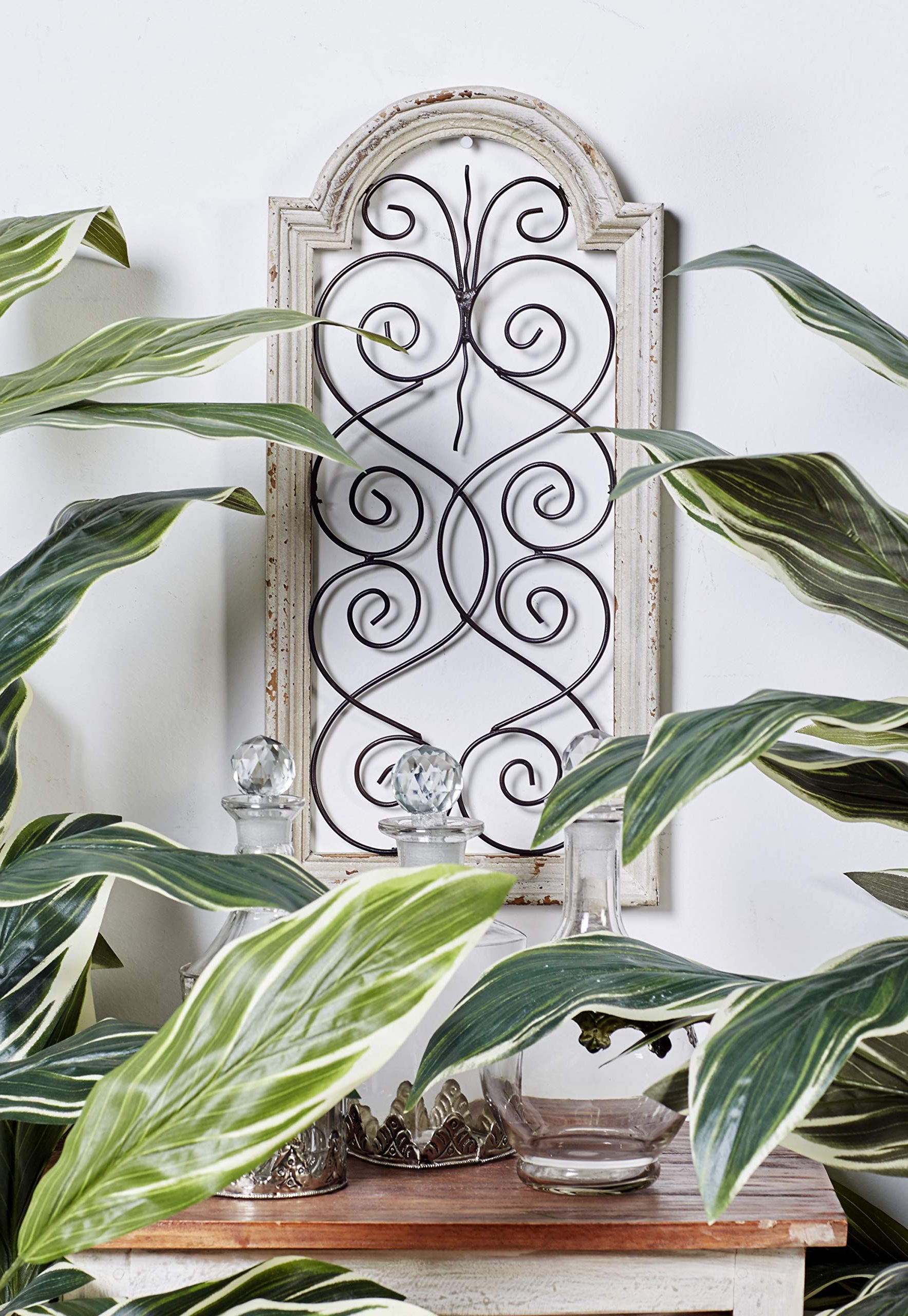 Antonin Wall Décor By One Allium Way Pertaining To Well Known Deco 79 Rustic Wood And Metal Arched Window Wall Decor, (View 8 of 20)