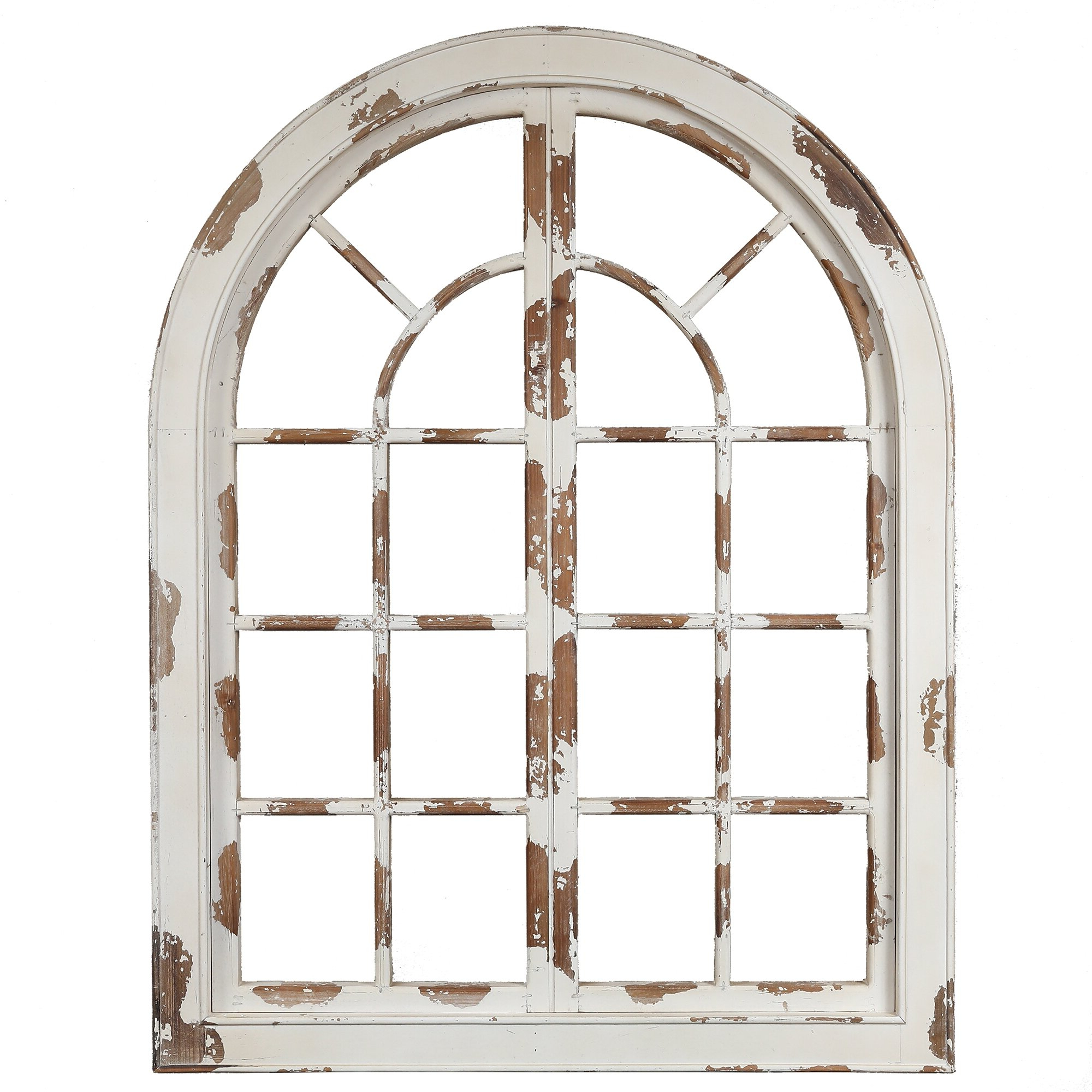 Arch Wall Décor By One Allium Way Pertaining To Most Popular Wood Arched Window Wall Décor (View 4 of 20)