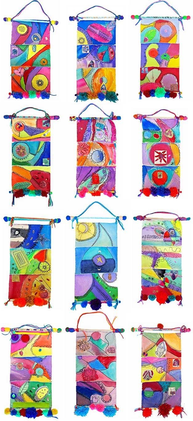 Art Lessons Elementary, Collaborative Art Regarding Blended Fabric Amazing Grace Wall Hangings (View 16 of 20)