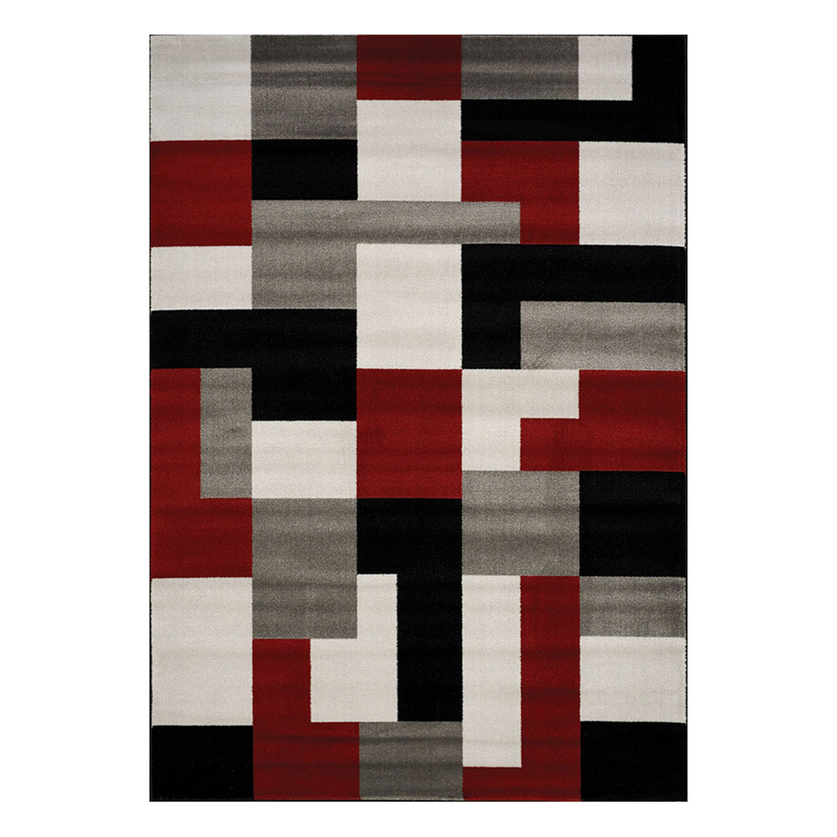 Athena Looped Grey/red/white Rug Within Fashionable Looped Wall Décor By Wade Logan (View 6 of 20)