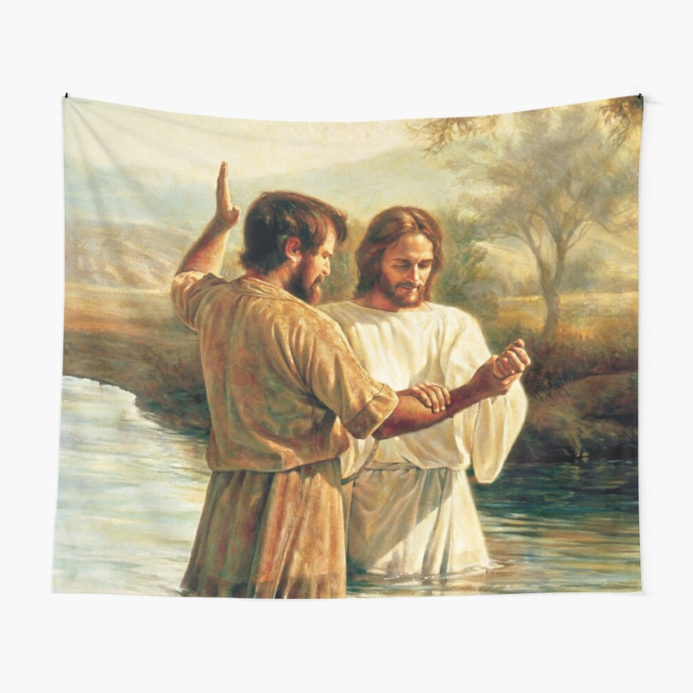 """Baptism Of Christ """" Tapestryjimmywatt (View 14 of 20)"""