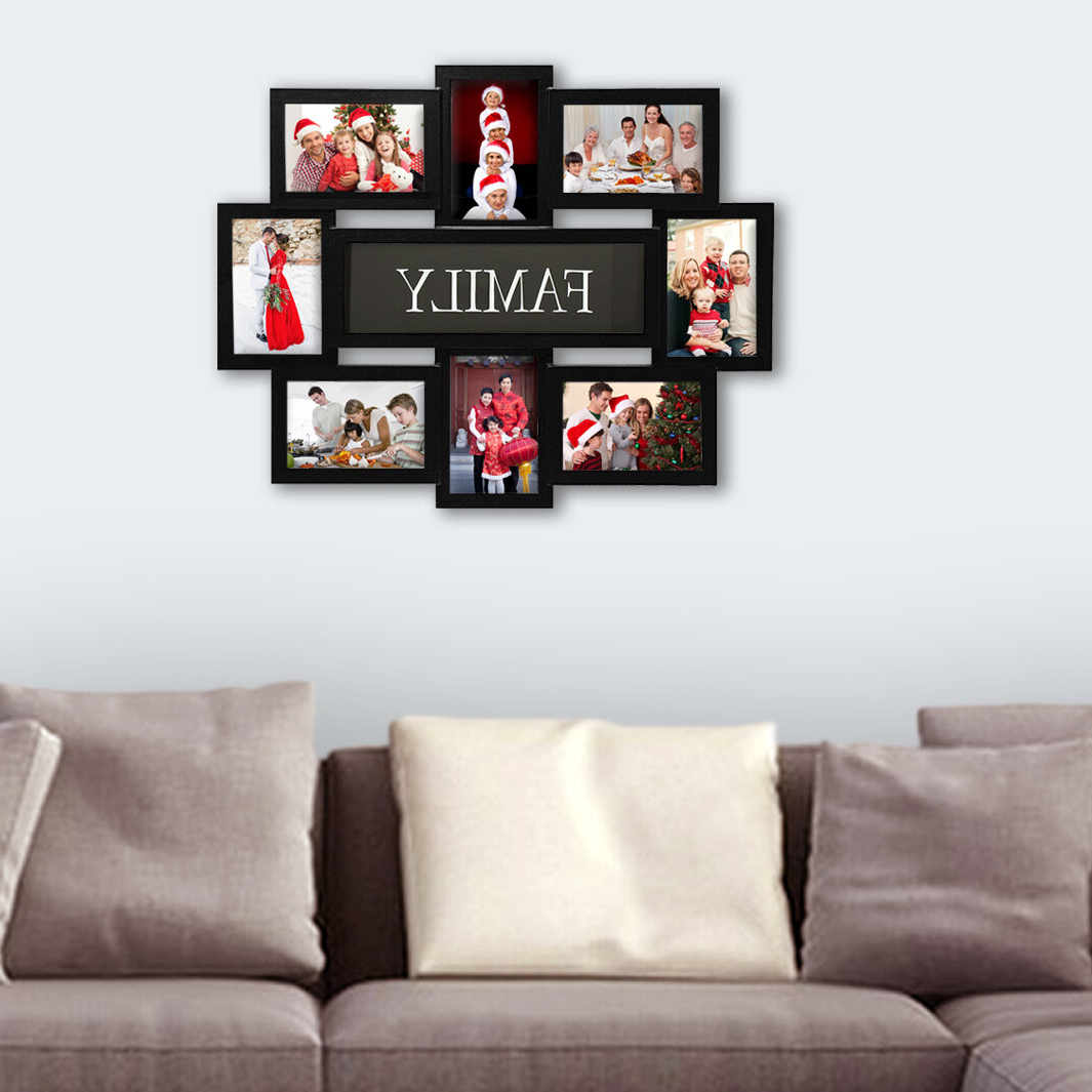 Believe Metal Wall Décor By Red Barrel Studio Regarding Favorite Geffrey Family Selfie Gallery Collage Wall Hanging Picture Frame (View 13 of 20)