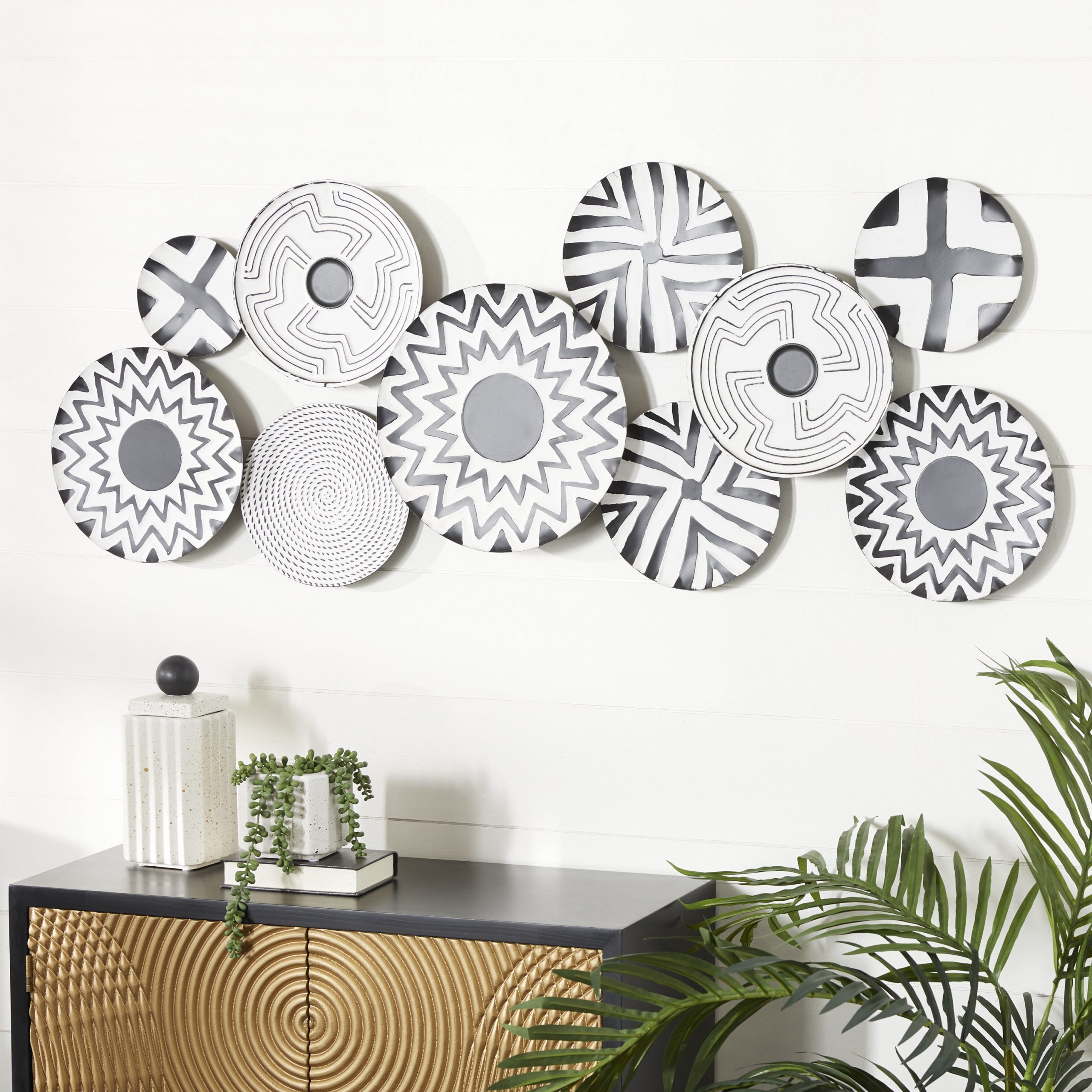 Best And Newest 2 Piece Starburst Wall Décor Set By Wrought Studio Within Metal Wall Décor (View 10 of 20)