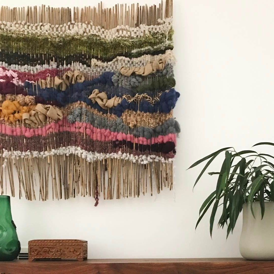 Best And Newest Blended Fabric Saber Wall Hangings With Rod Within 642 Likes, 21 Comments – Tammy Kanat (@tammykanat) On (View 17 of 20)