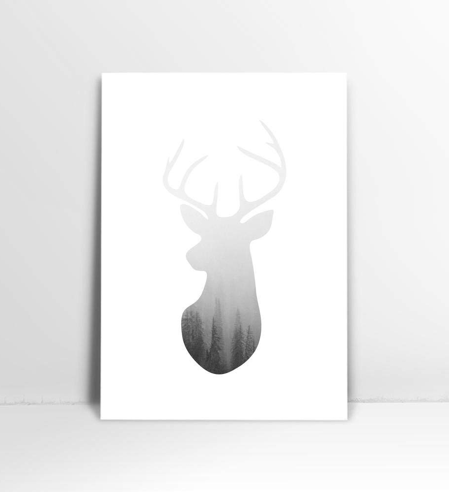 Best And Newest Cheap Art Deer Head, Find Art Deer Head Deals On Line At Pertaining To The Frankfurt Deer Head Wall Décor (View 13 of 20)